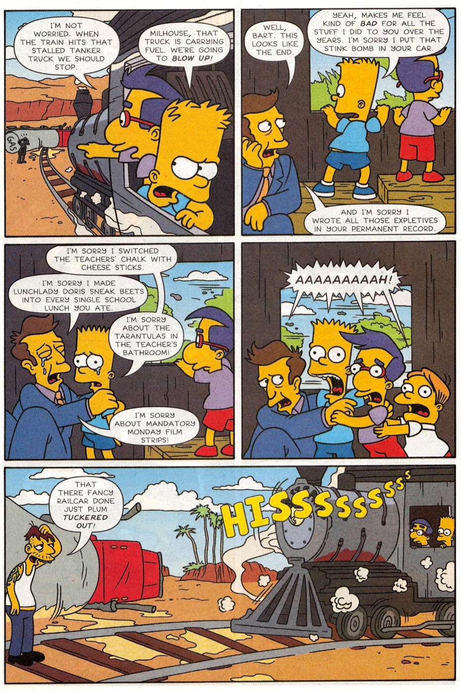 Read online Simpsons Comics Presents Bart Simpson comic -  Issue #30 - 25