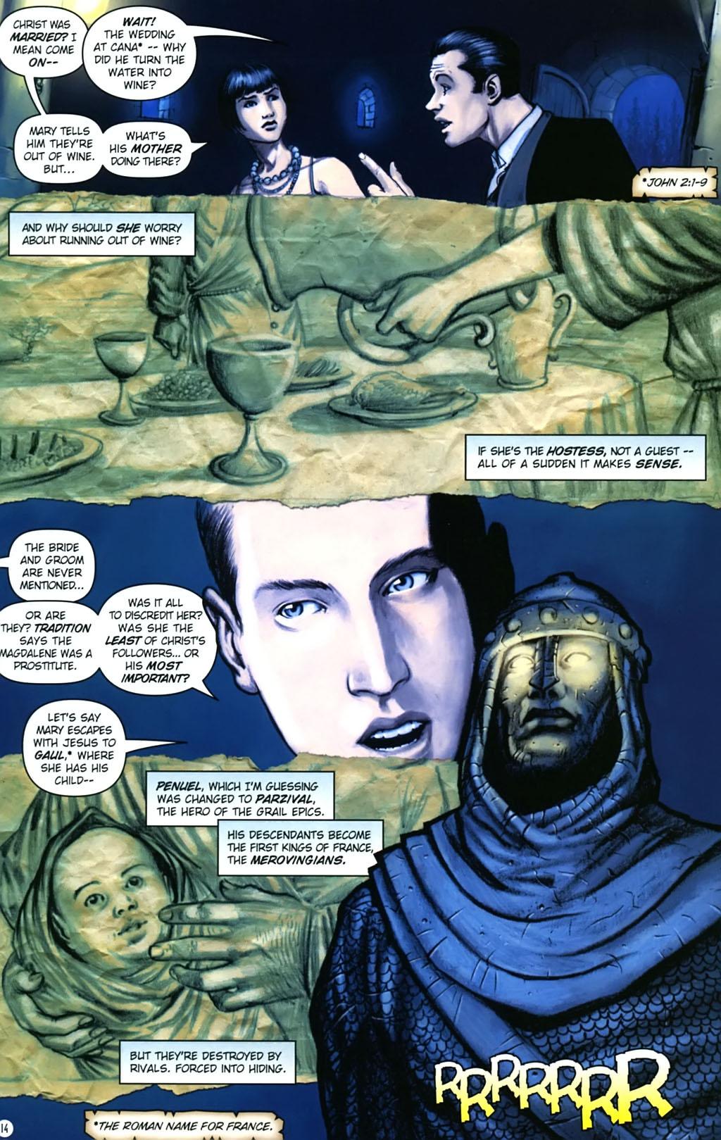 Read online Rex Mundi comic -  Issue #17 - 18