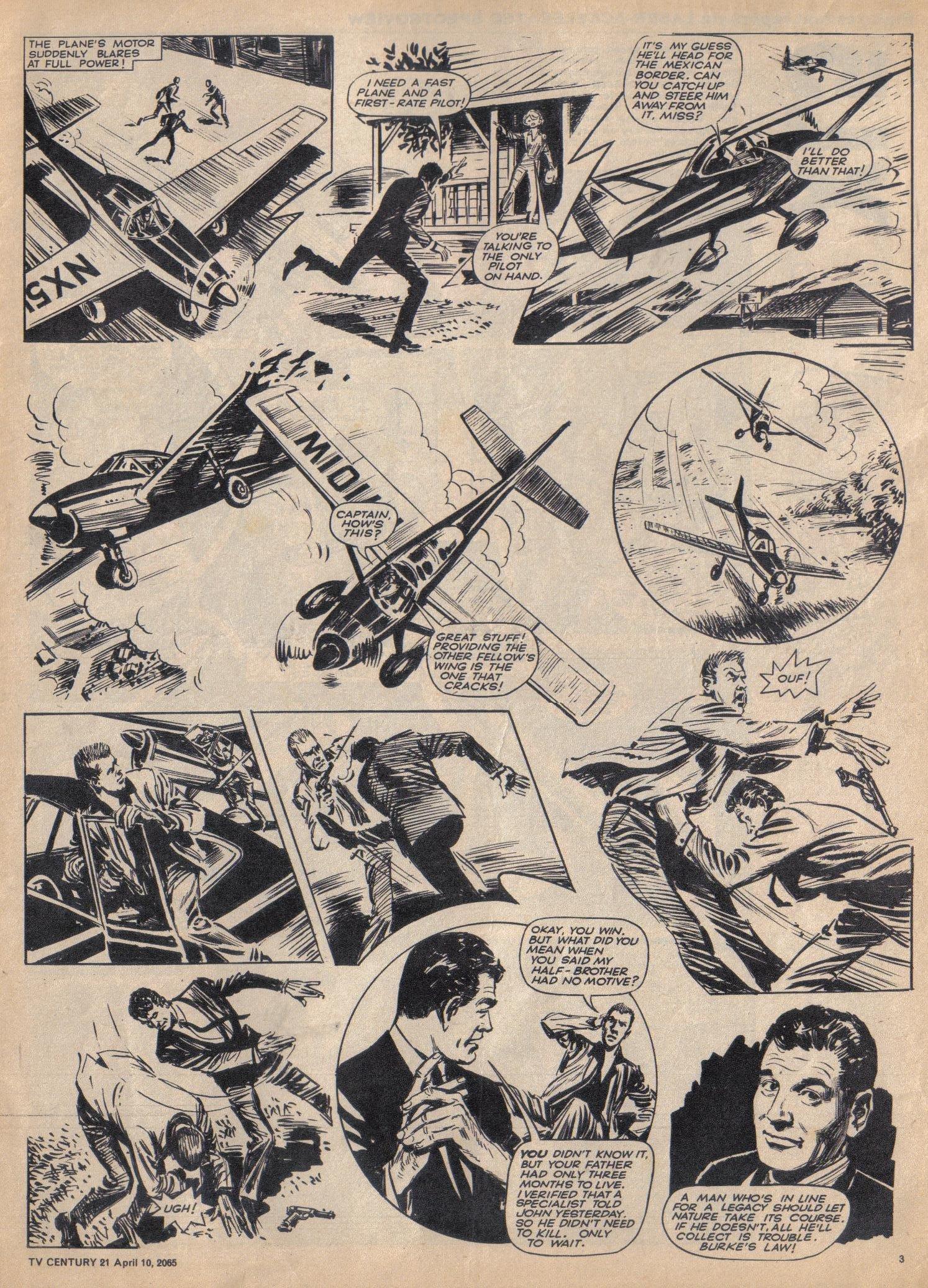 Read online TV Century 21 (TV 21) comic -  Issue #12 - 3