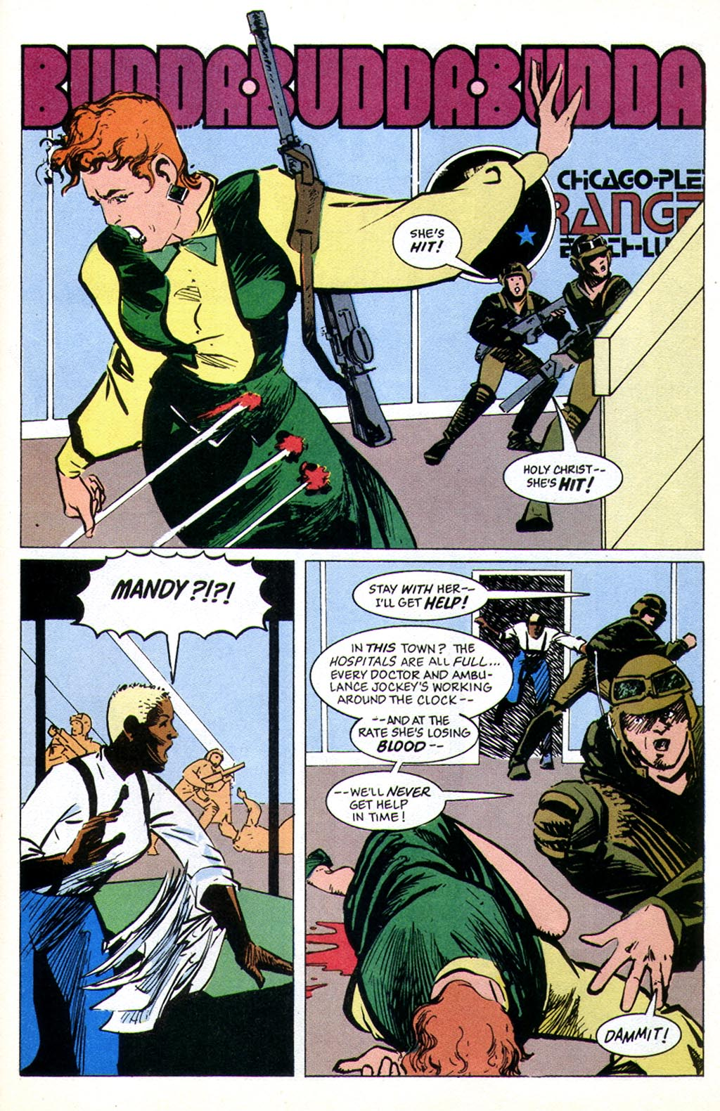 Read online American Flagg! comic -  Issue #43 - 31