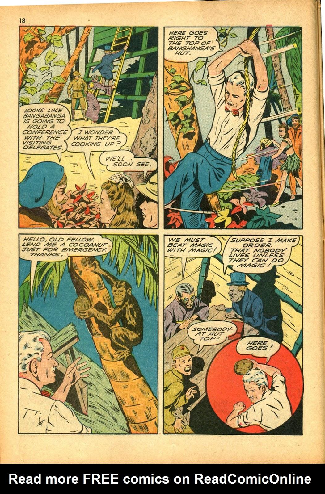Read online Super-Magician Comics comic -  Issue #15 - 18
