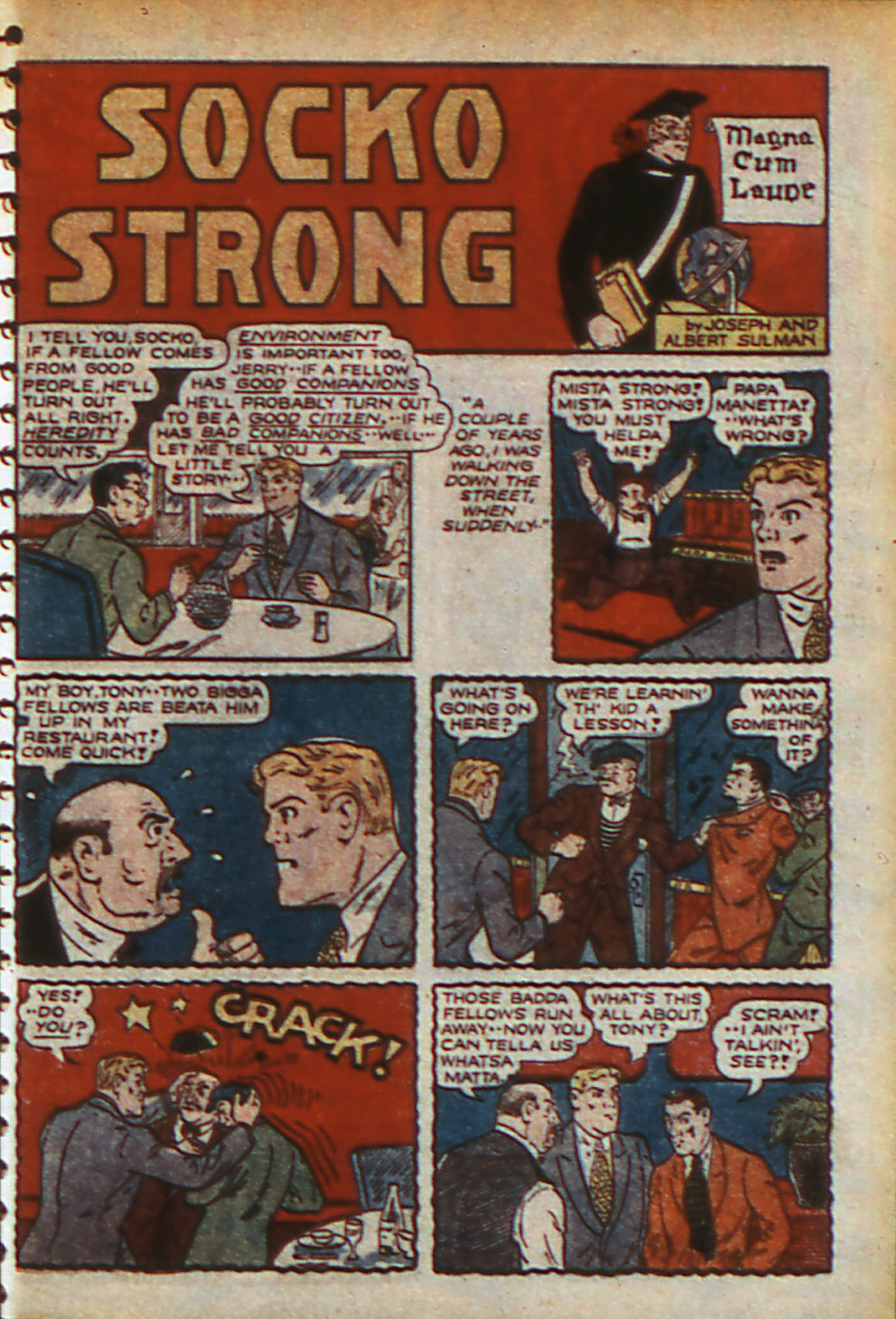 Read online Adventure Comics (1938) comic -  Issue #57 - 42