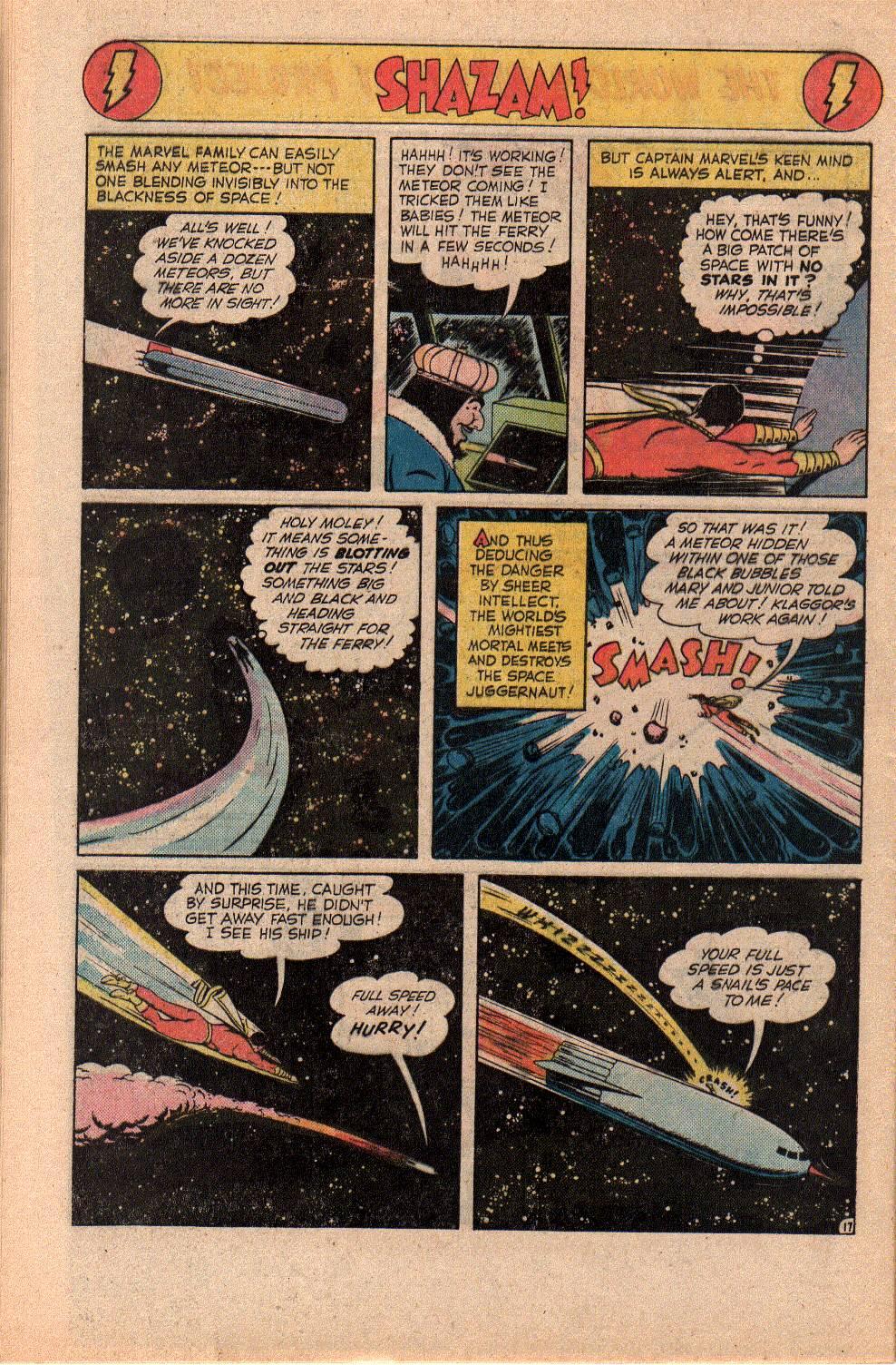 Read online Shazam! (1973) comic -  Issue #23 - 32