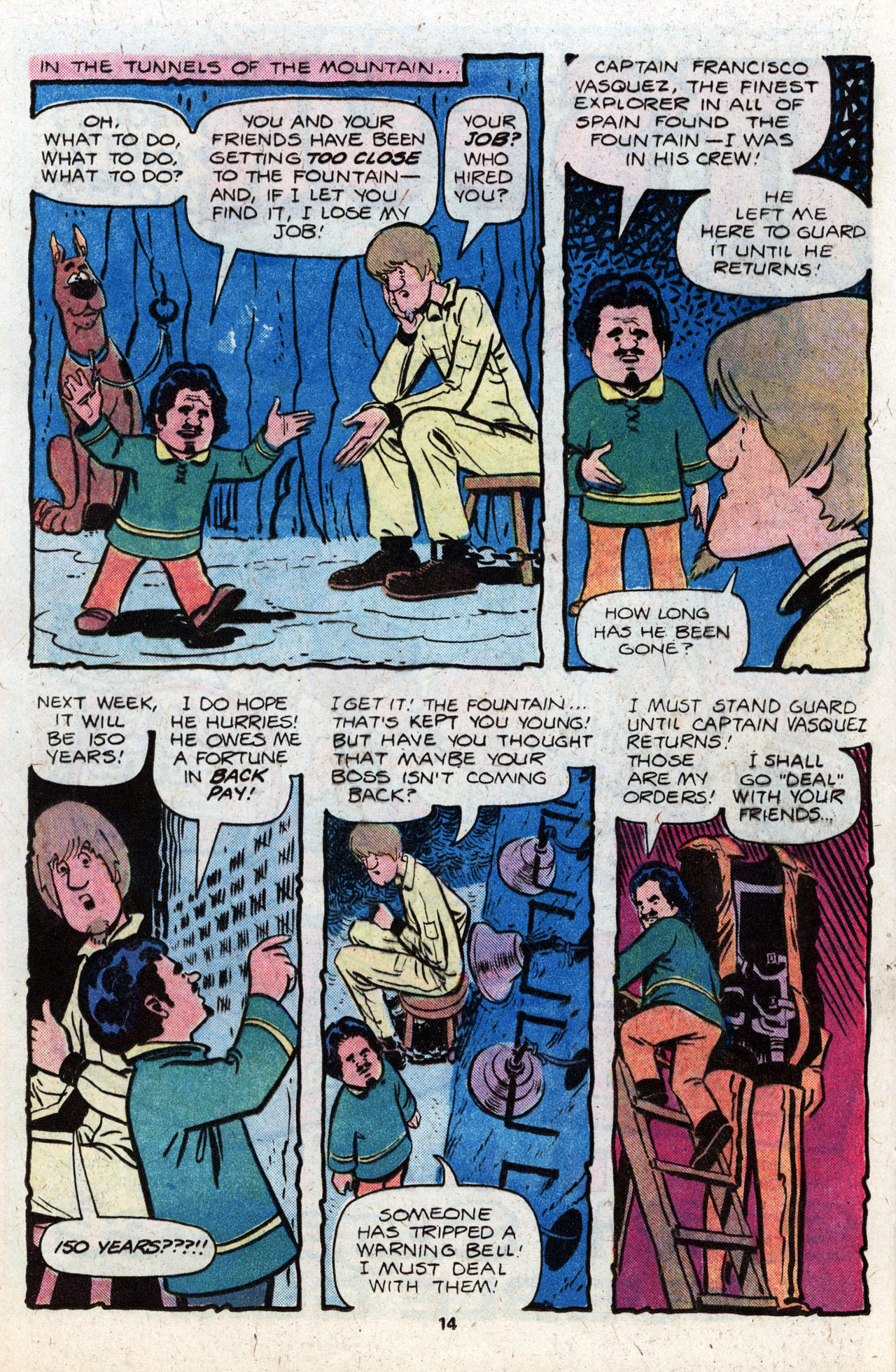 Read online Scooby-Doo (1977) comic -  Issue #8 - 16