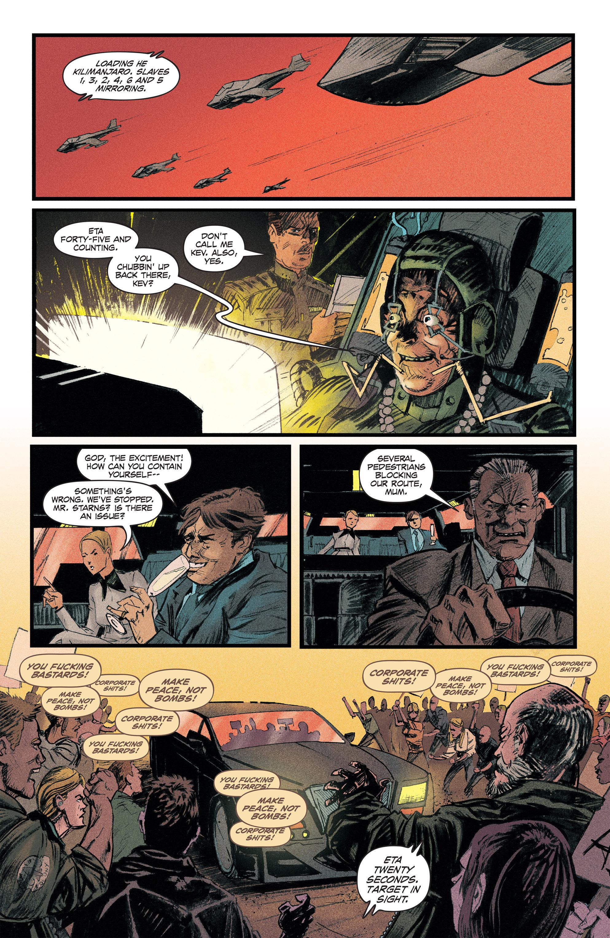 Read online Redline comic -  Issue #2 - 4