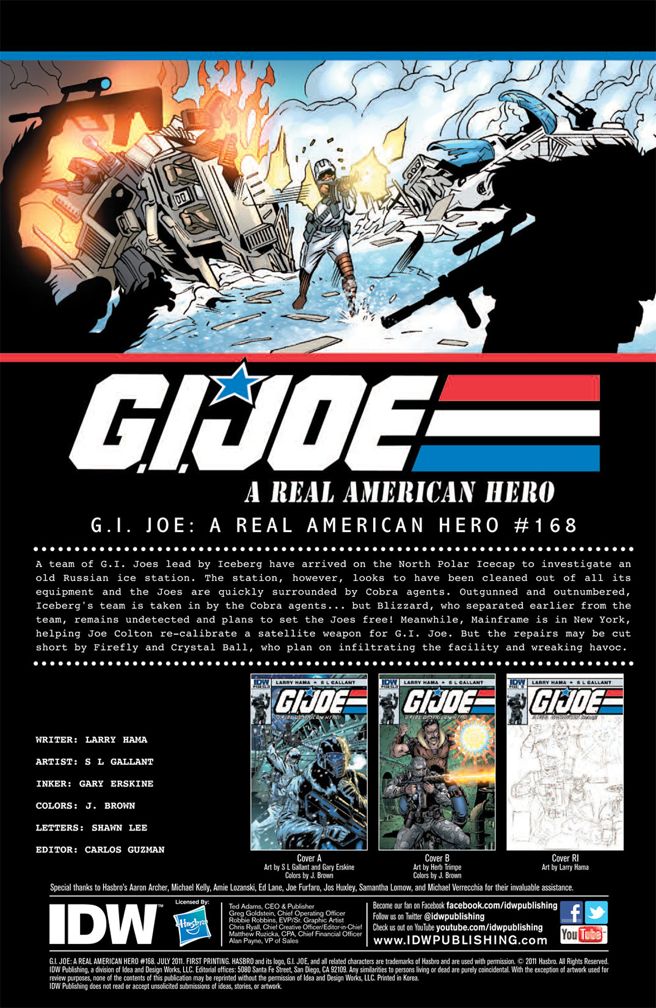 G.I. Joe: A Real American Hero 168 Page 3