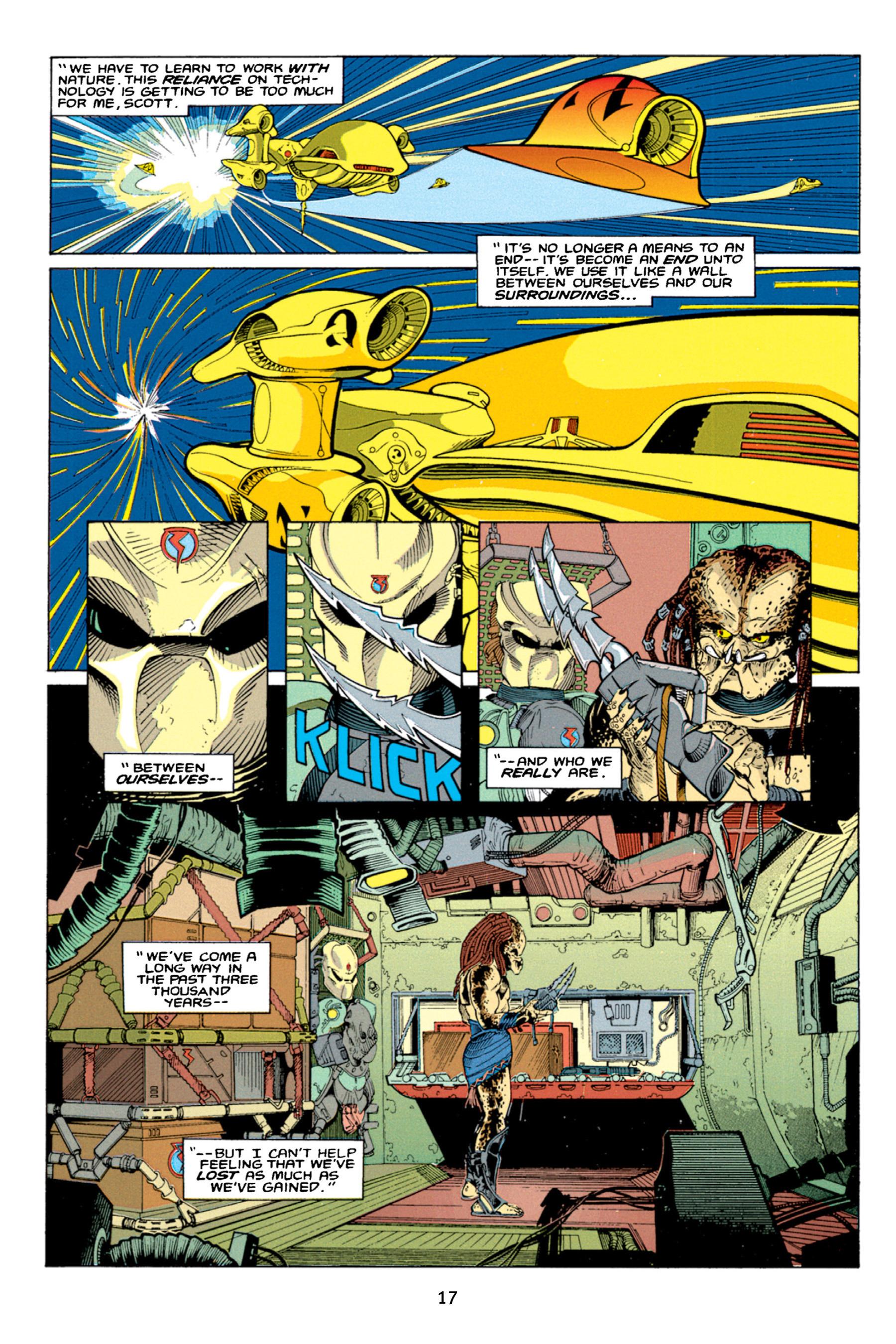 Read online Aliens vs. Predator Omnibus comic -  Issue # _TPB 1 Part 1 - 17