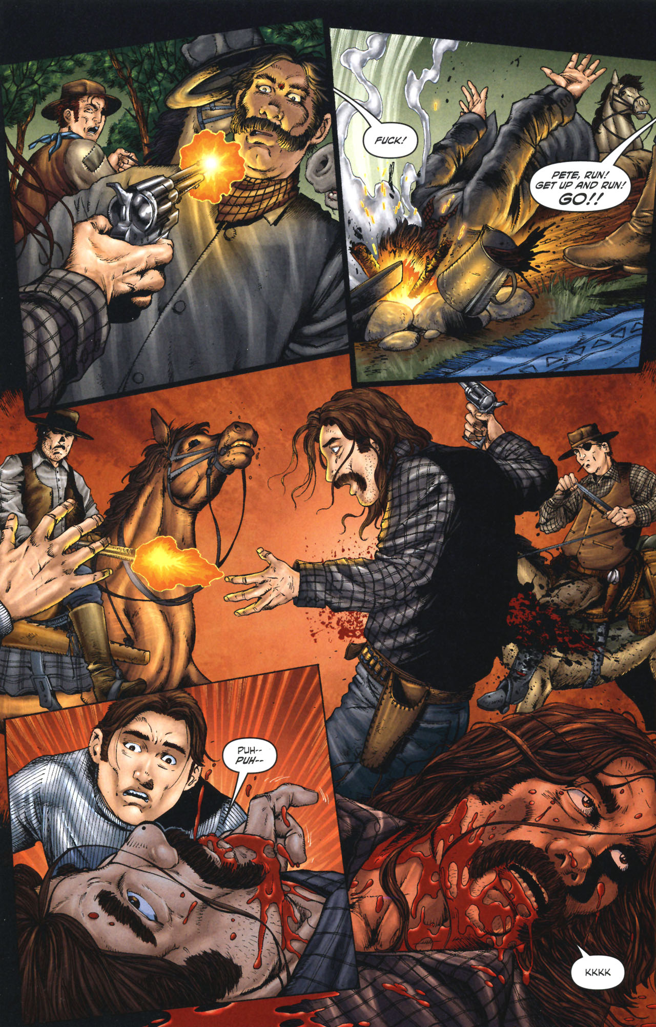 Read online Garth Ennis' Streets of Glory comic -  Issue #1 - 10
