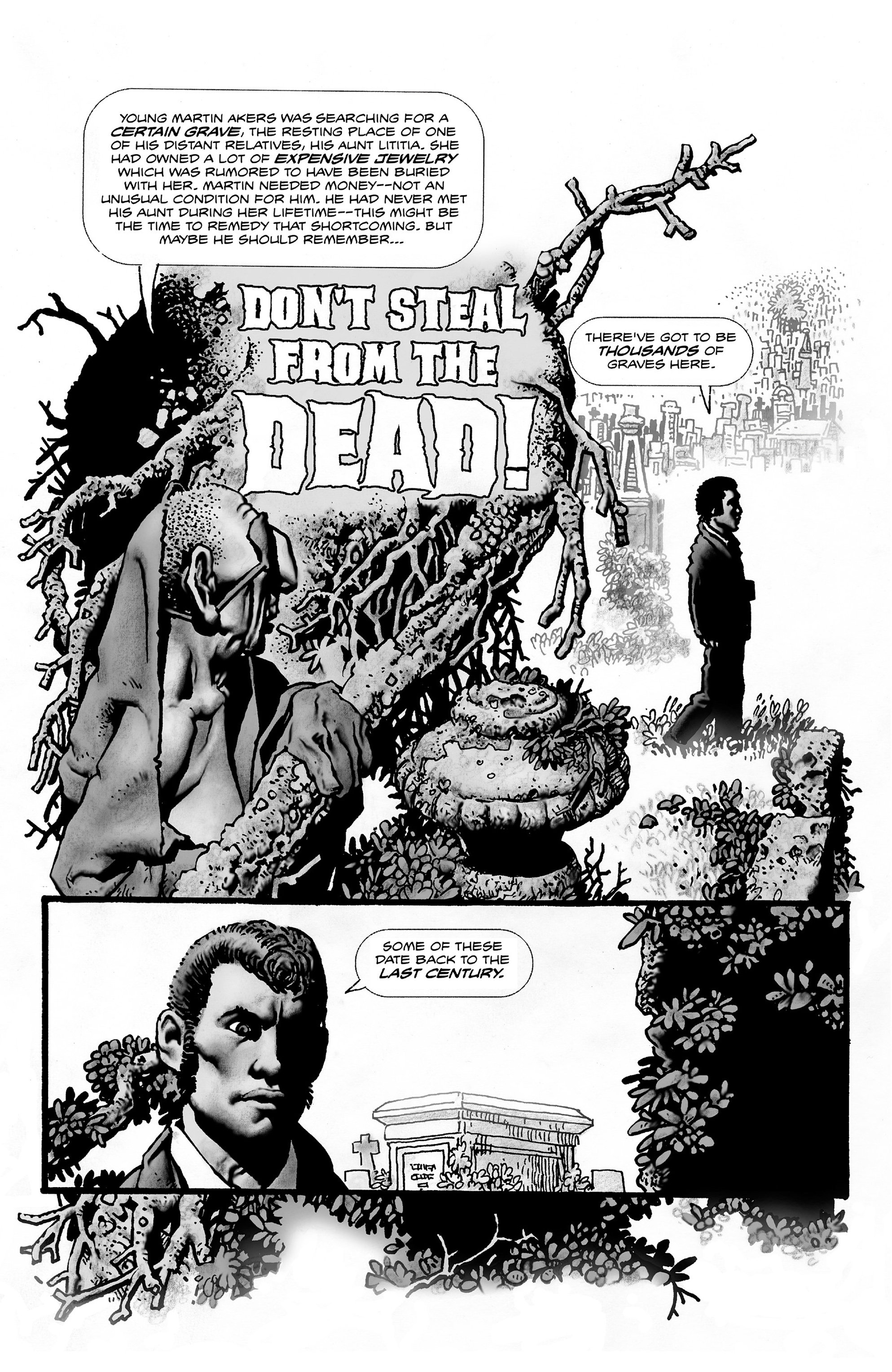 Read online Shadows on the Grave comic -  Issue #2 - 19