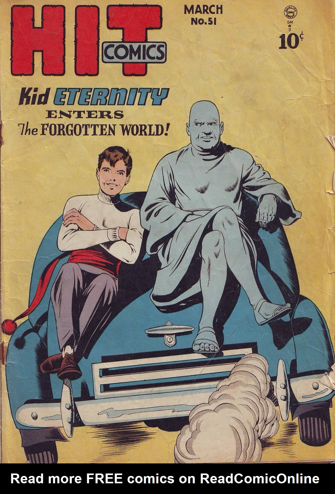 Read online Hit Comics comic -  Issue #51 - 1