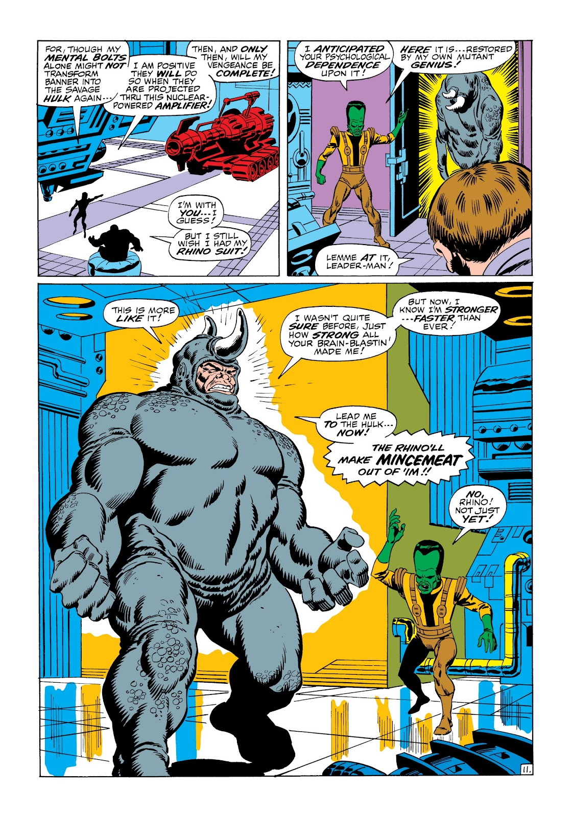 Read online Marvel Masterworks: The Incredible Hulk comic -  Issue # TPB 6 (Part 1) - 62