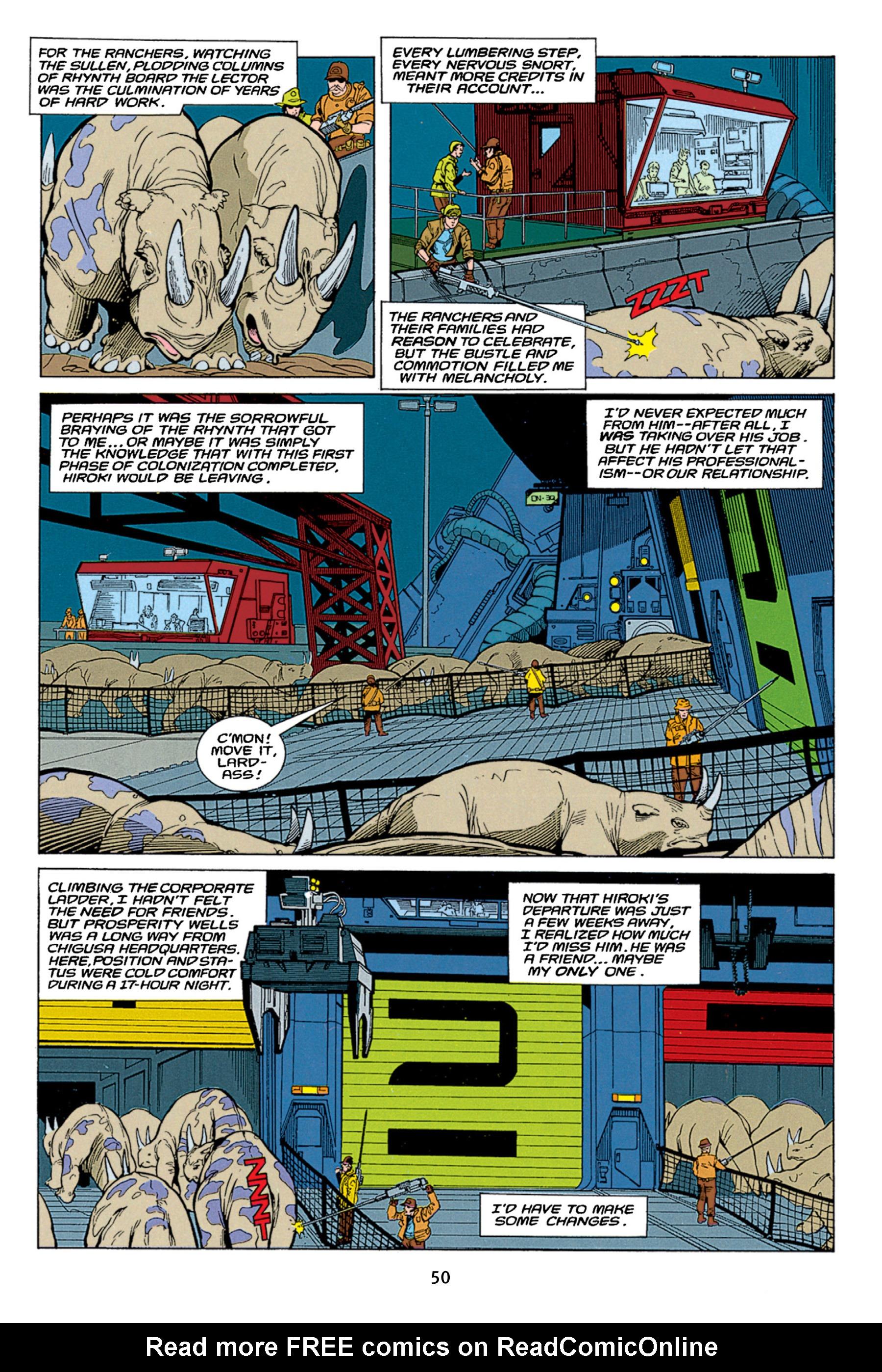 Read online Aliens vs. Predator Omnibus comic -  Issue # _TPB 1 Part 1 - 50