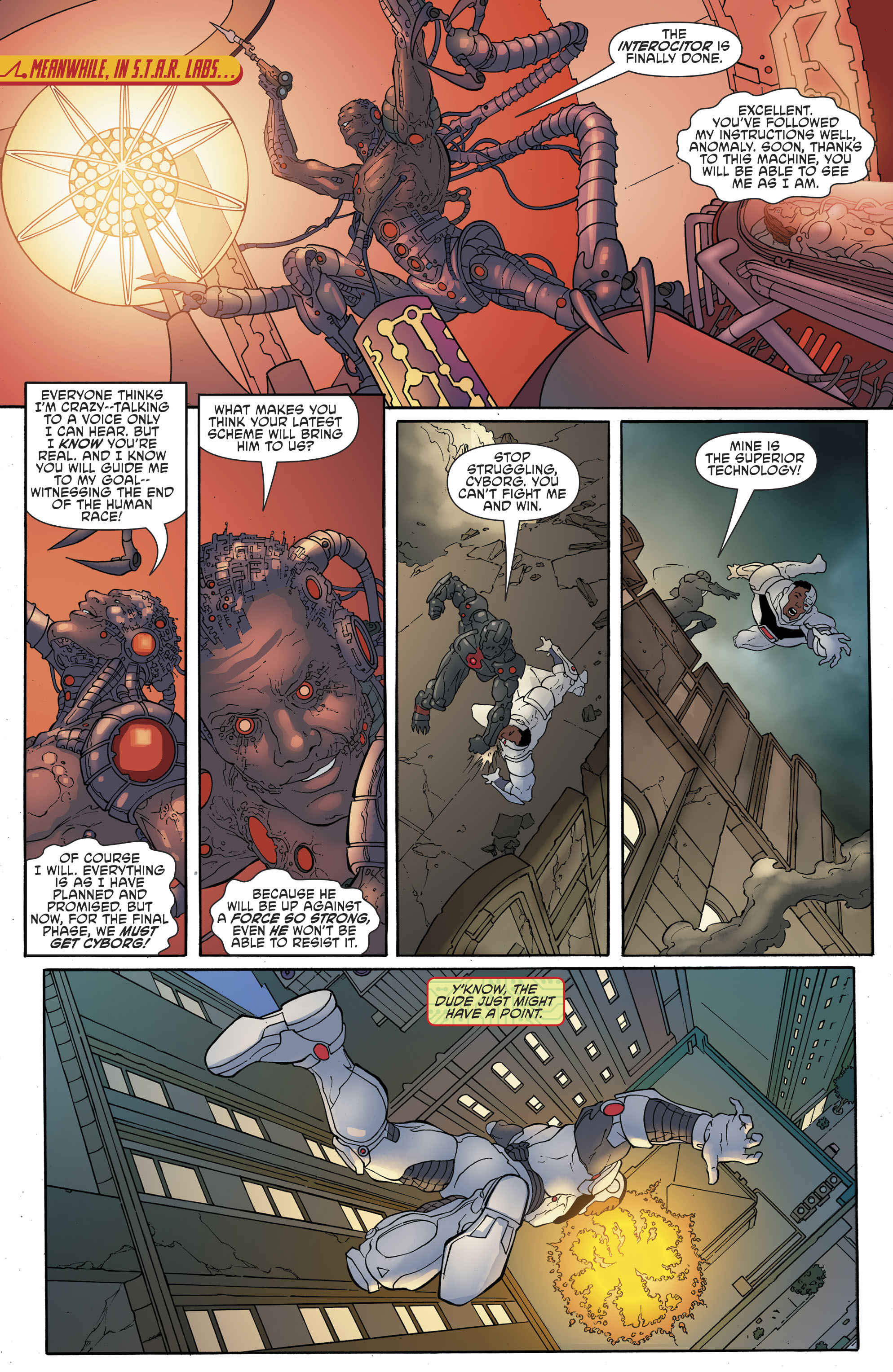 Read online Cyborg (2016) comic -  Issue #13 - 11