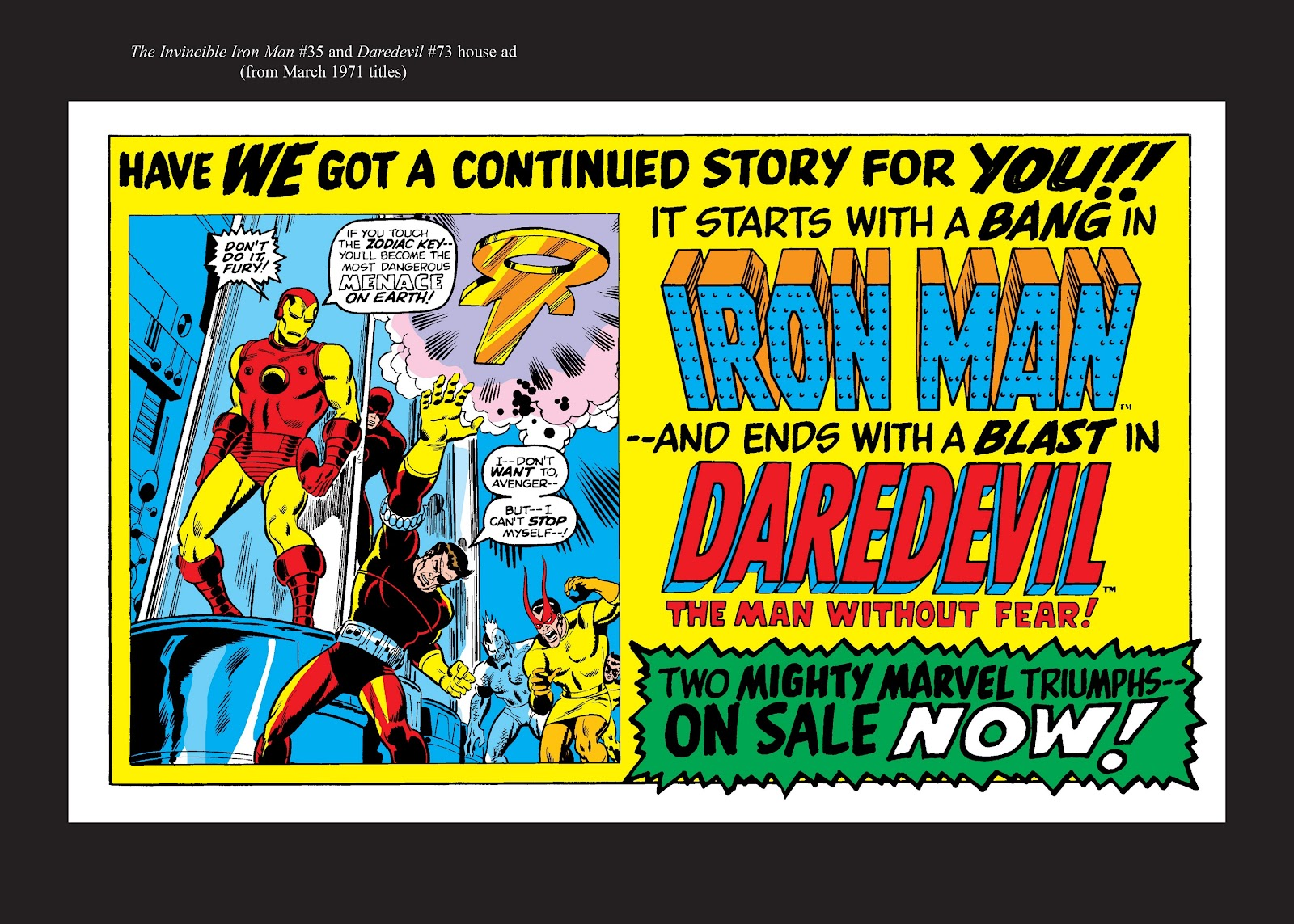 Read online Marvel Masterworks: The Invincible Iron Man comic -  Issue # TPB 7 (Part 3) - 91