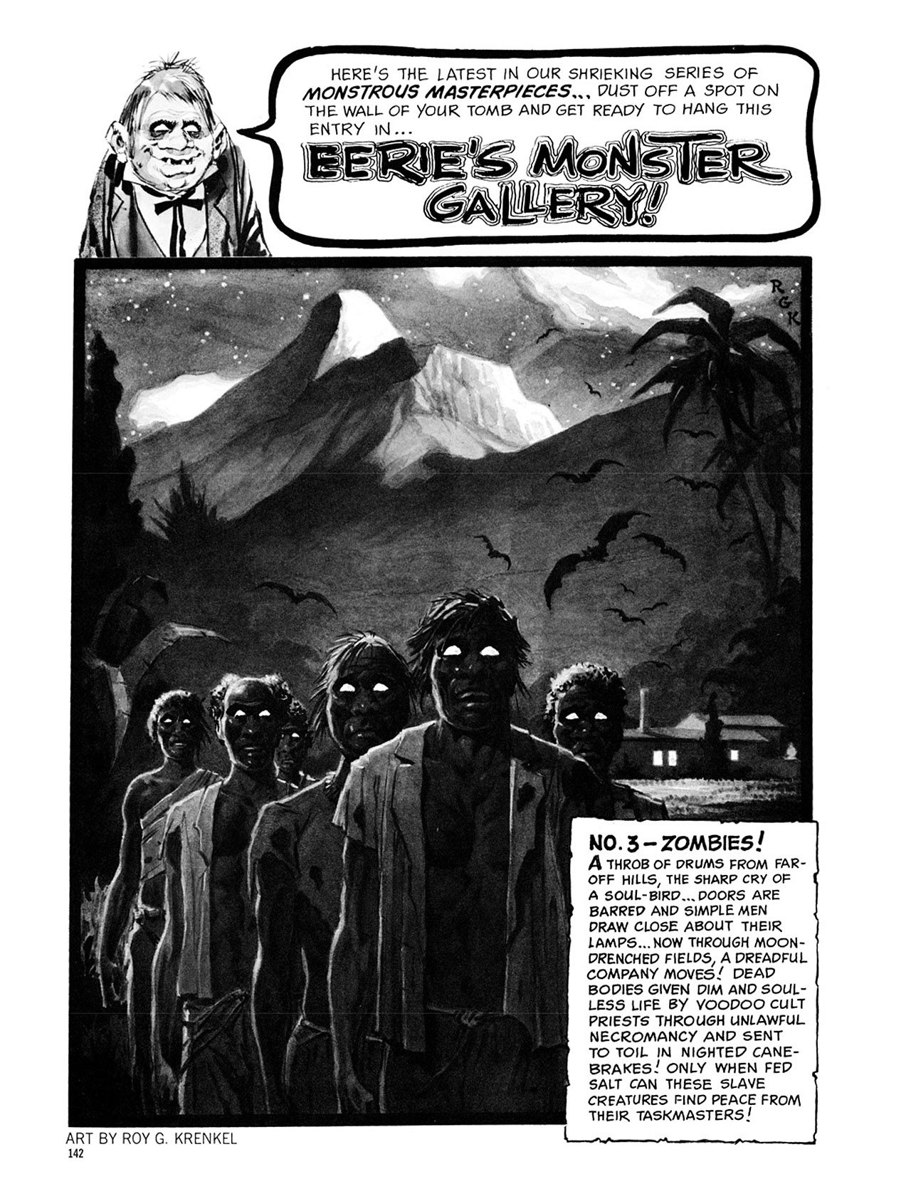 Read online Eerie Archives comic -  Issue # TPB 1 - 143