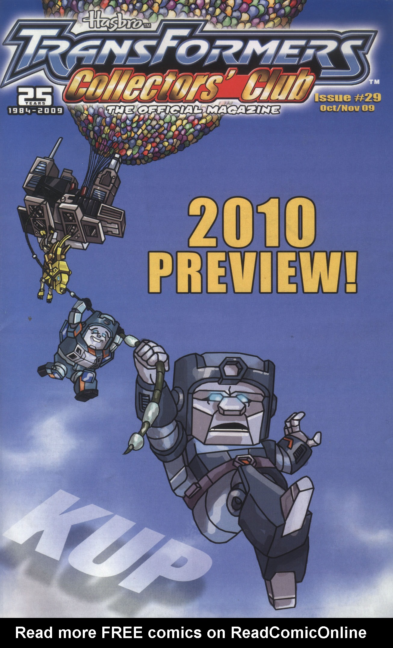Read online Transformers: Collectors' Club comic -  Issue #29 - 1