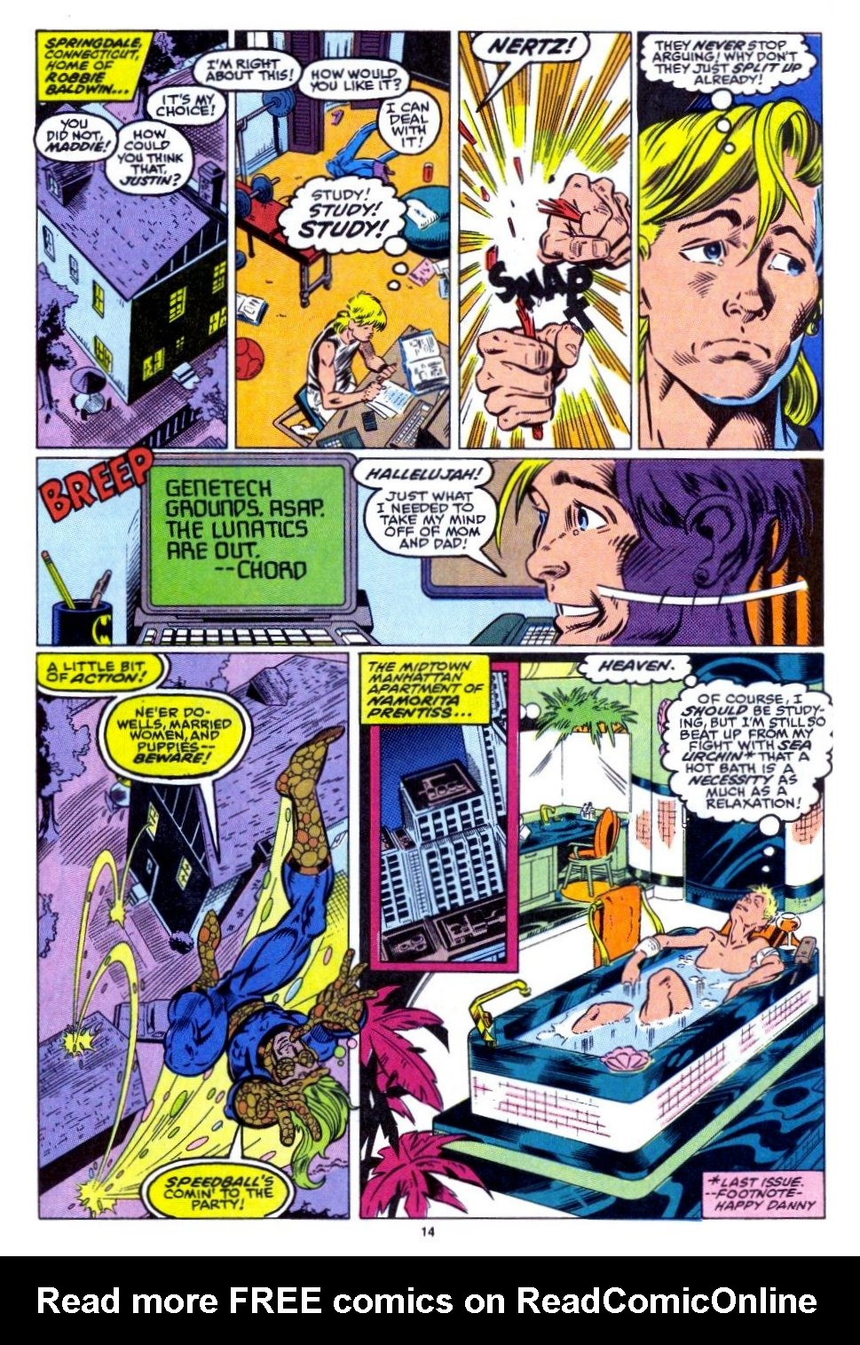 The New Warriors Issue #15 #19 - English 12
