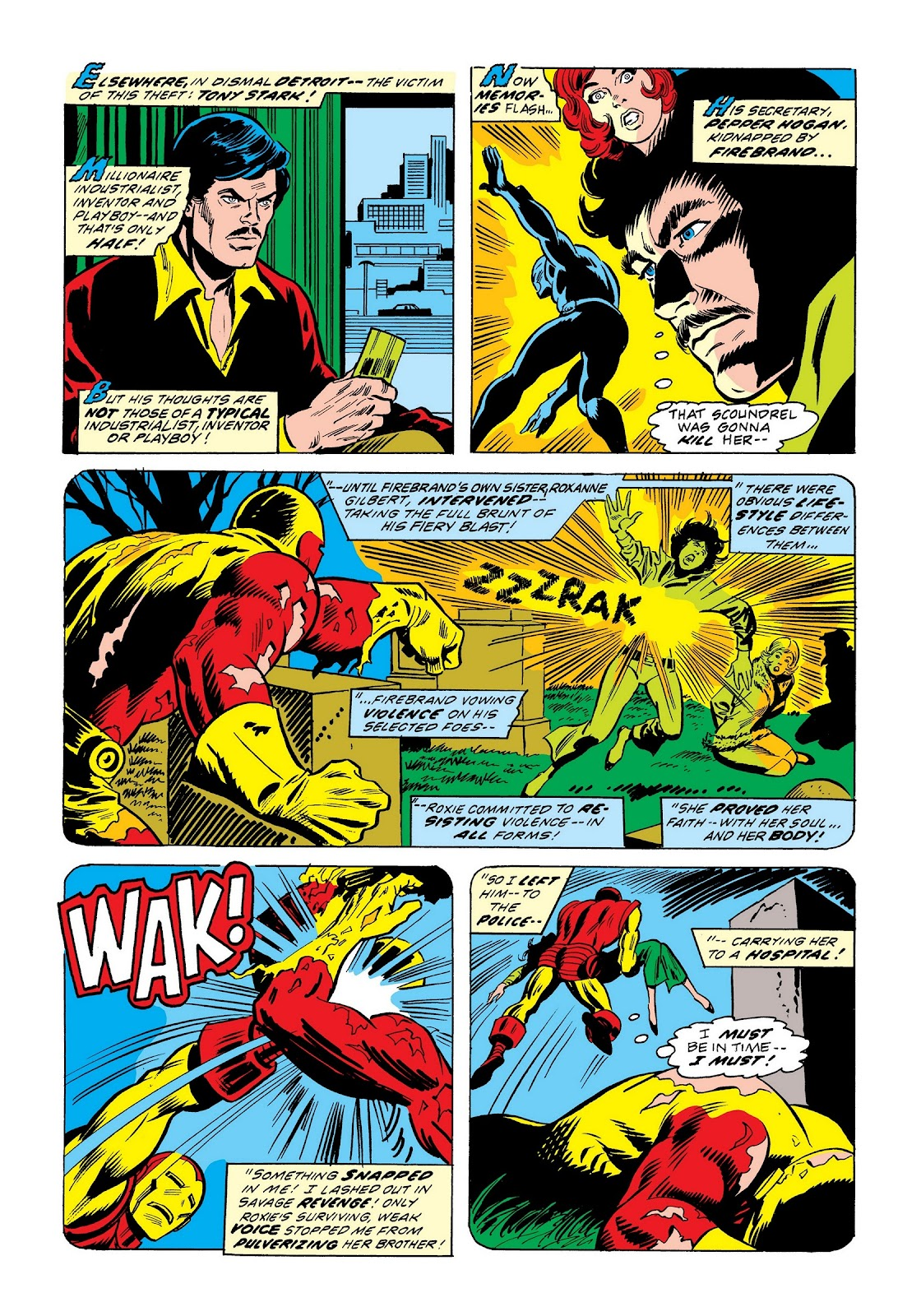 Read online Marvel Masterworks: The Invincible Iron Man comic -  Issue # TPB 9 (Part 2) - 37