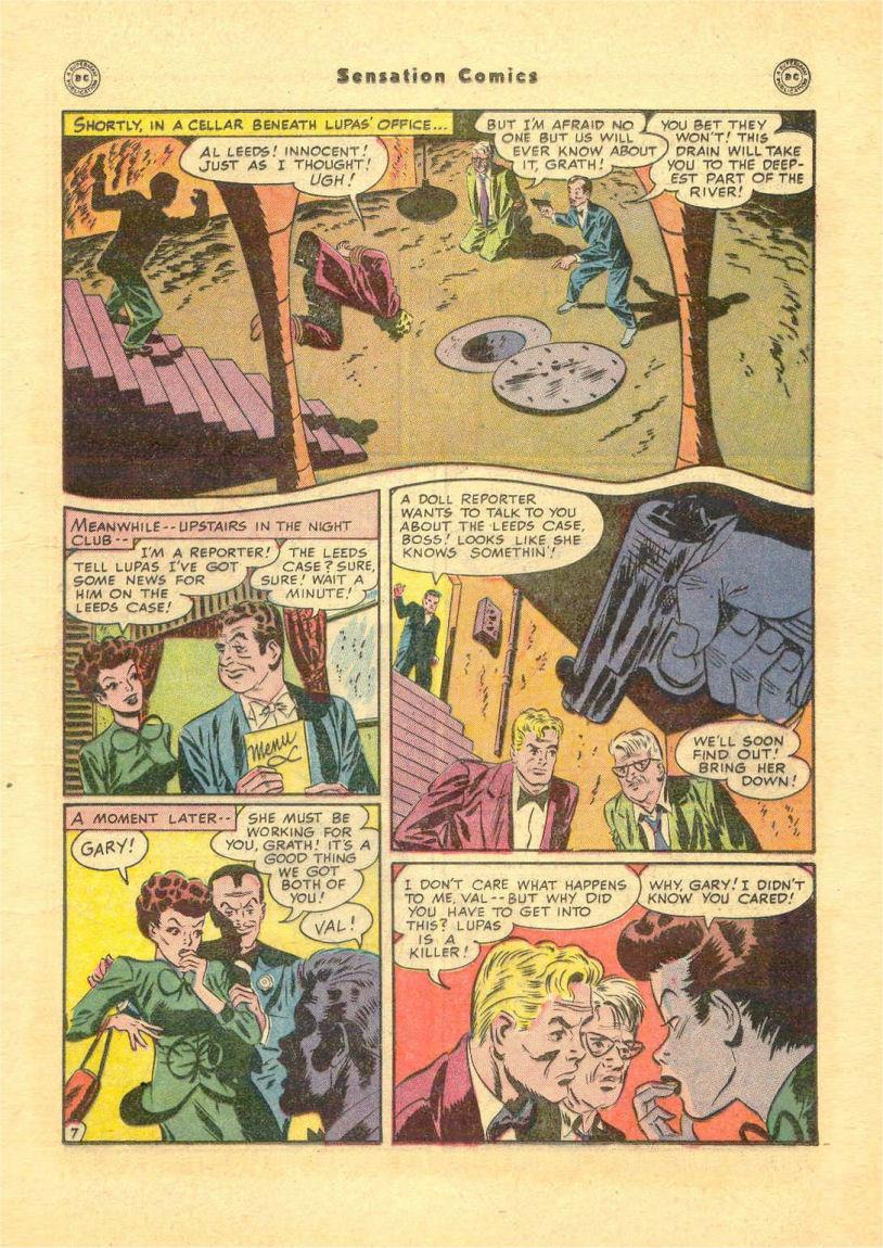 Read online Sensation (Mystery) Comics comic -  Issue #84 - 25