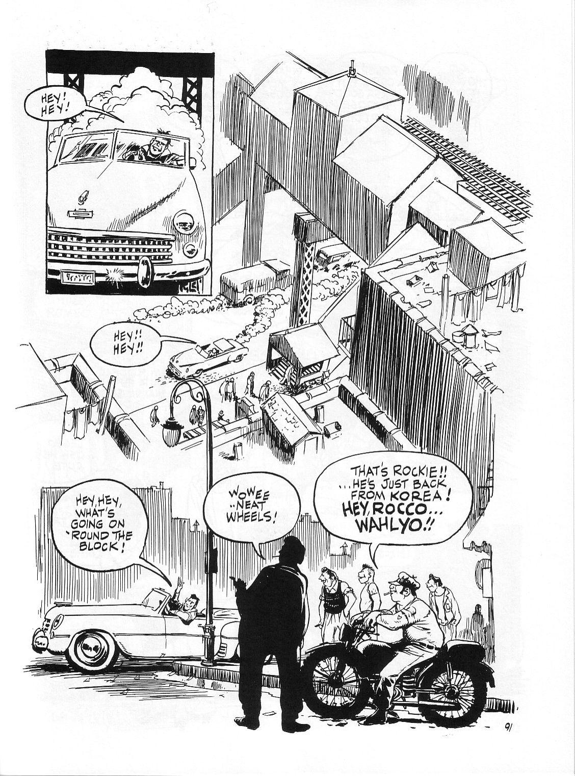 Read online Dropsie Avenue, The Neighborhood comic -  Issue # Full - 93