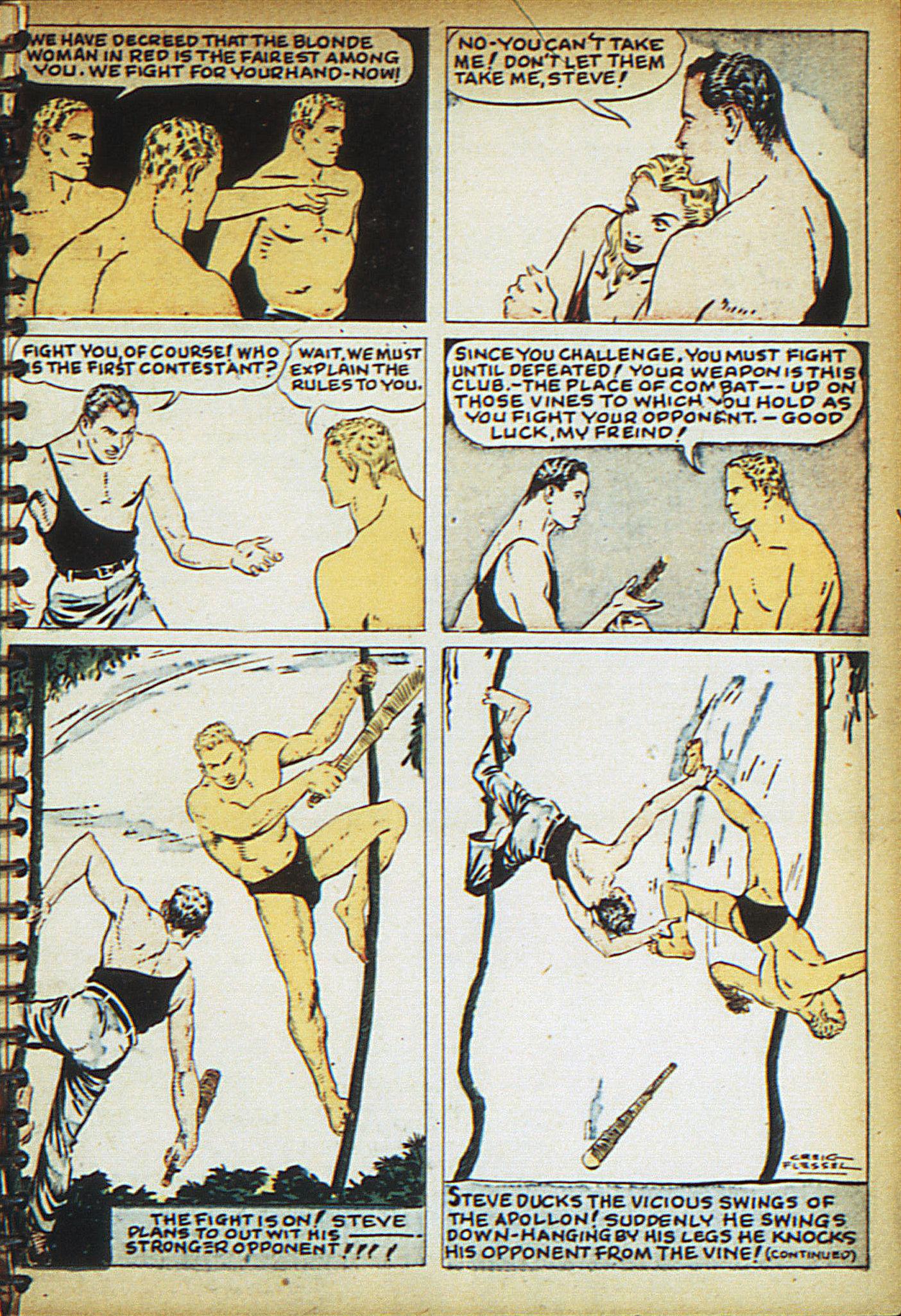 Read online Adventure Comics (1938) comic -  Issue #18 - 20