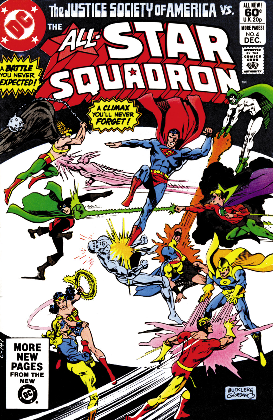 Read online All-Star Squadron comic -  Issue #4 - 1