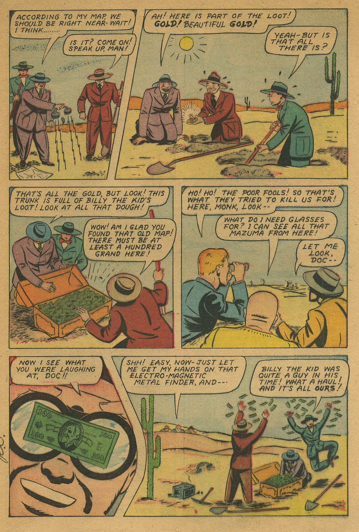 Read online Shadow Comics comic -  Issue #49 - 23