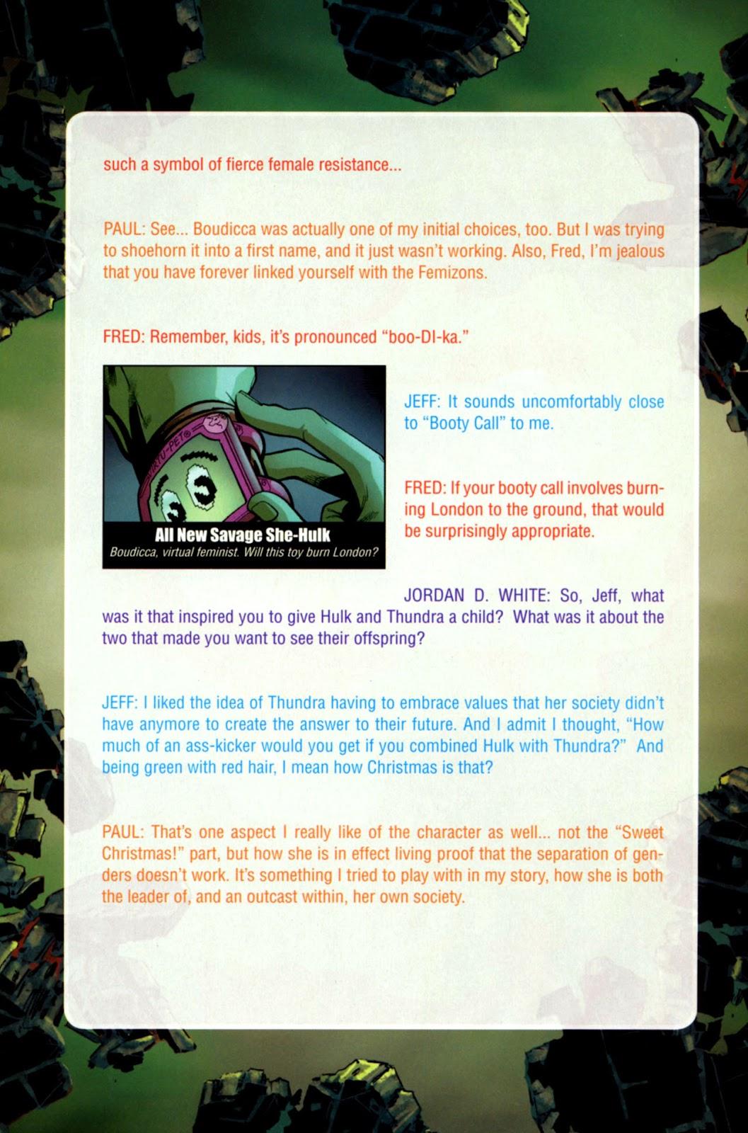 Savage She-Hulk Issue #1 #1 - English 30