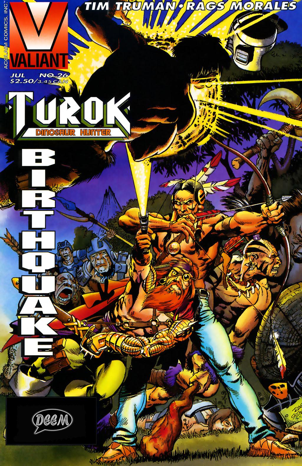 Read online Turok, Dinosaur Hunter (1993) comic -  Issue #26 - 1