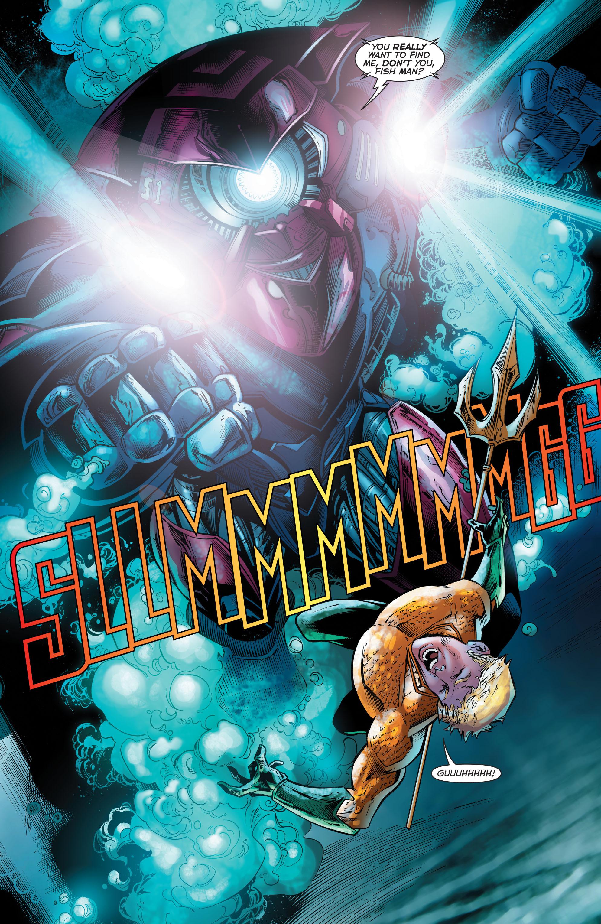 Read online Aquaman (2011) comic -  Issue #51 - 19