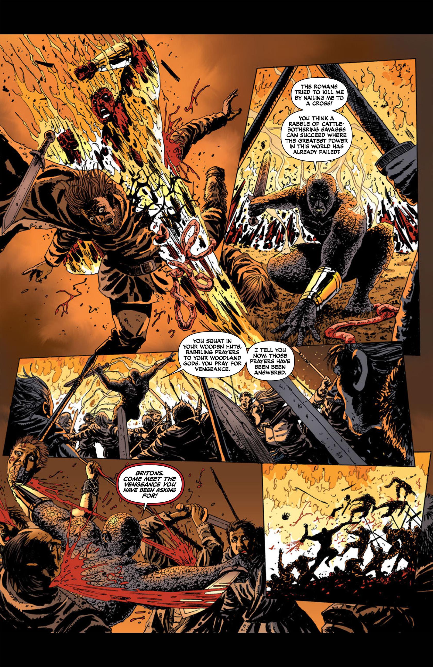 Read online Aquila comic -  Issue #1 - 16