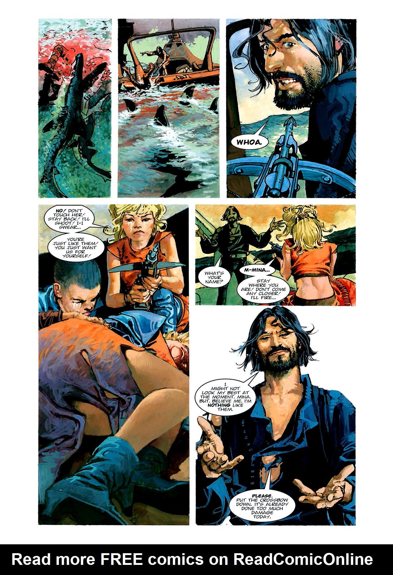 Read online Nikolai Dante comic -  Issue # TPB 6 - 90
