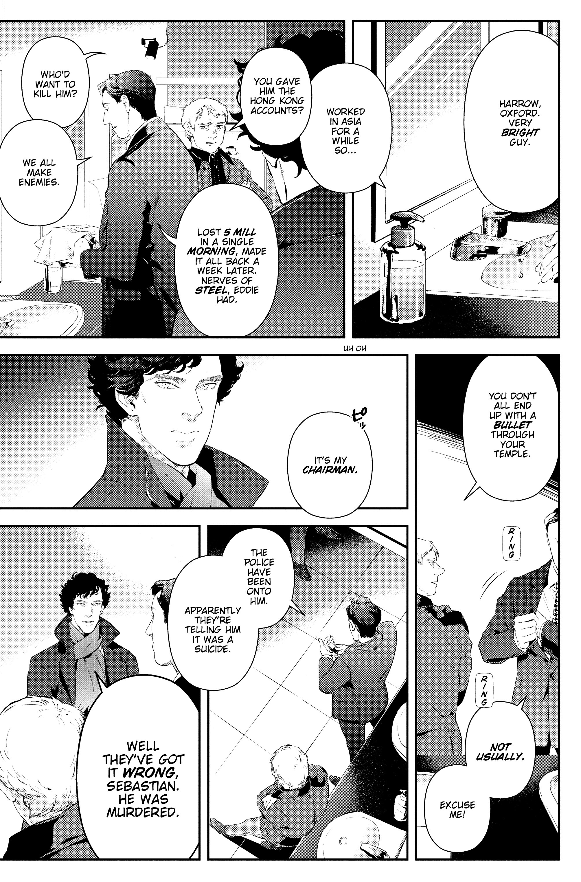 Read online Sherlock: The Blind Banker comic -  Issue #2 - 18