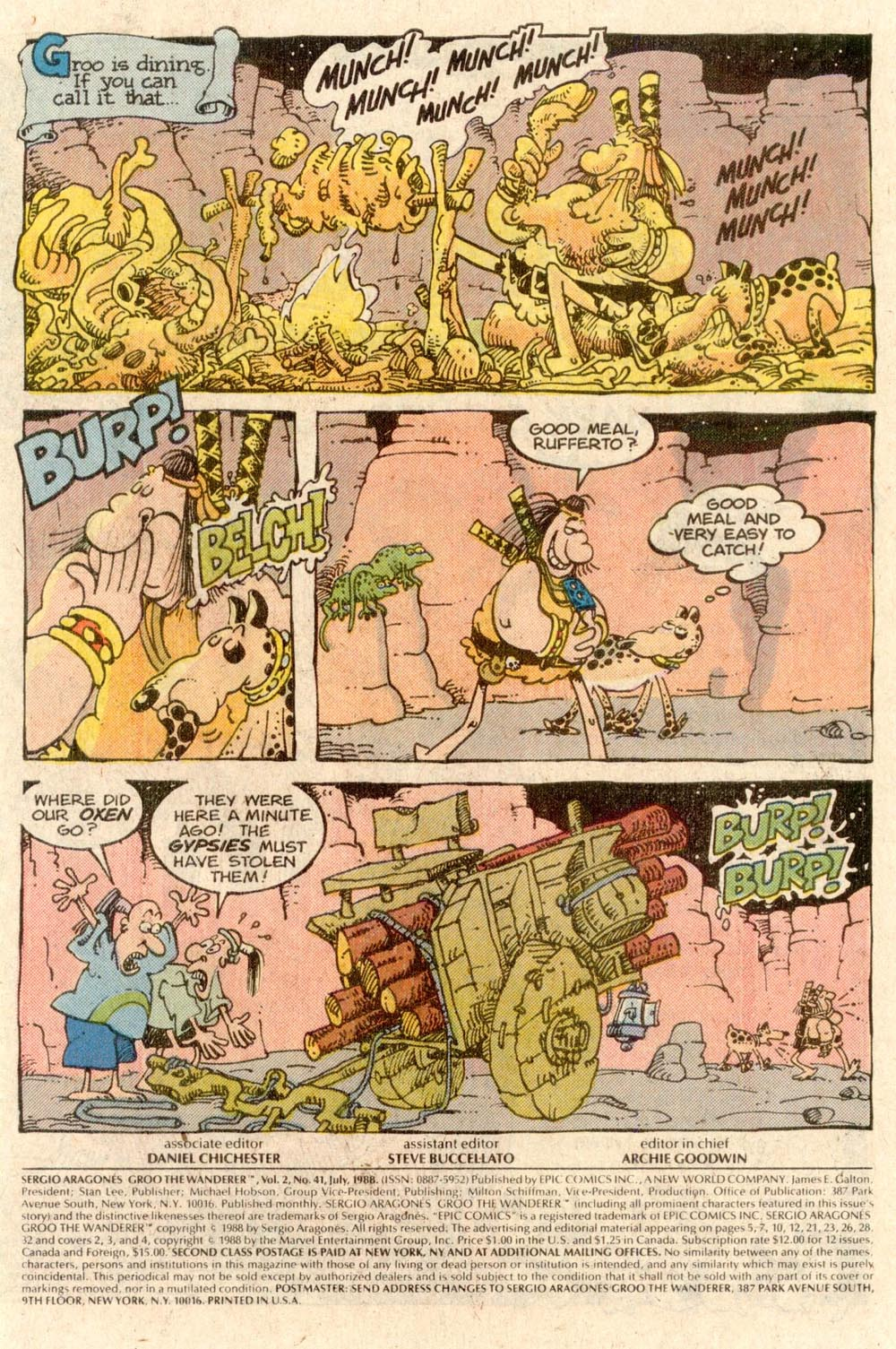 Read online Sergio Aragonés Groo the Wanderer comic -  Issue #41 - 2