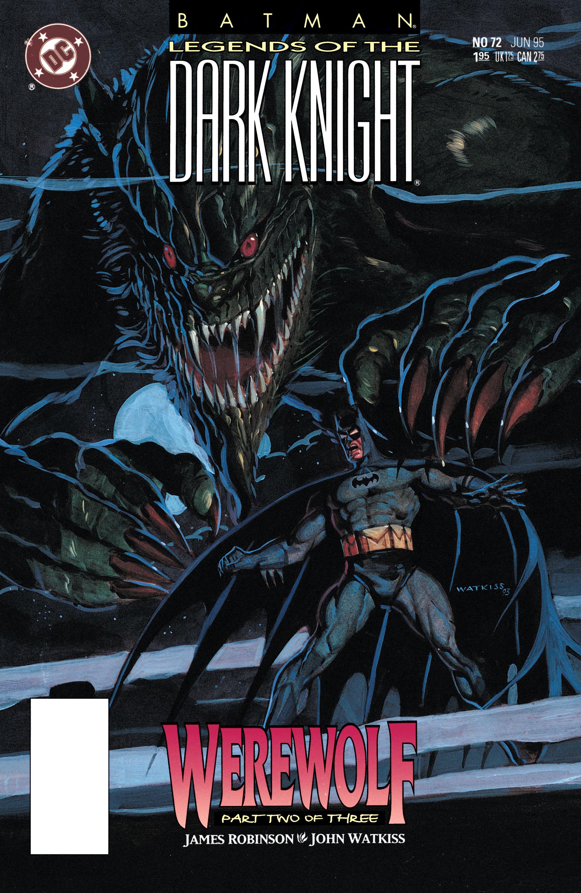 Batman: Legends of the Dark Knight 72 Page 1