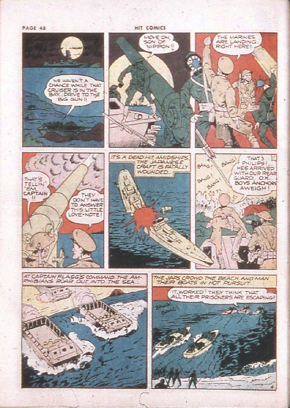 Read online Hit Comics comic -  Issue #24 - 50