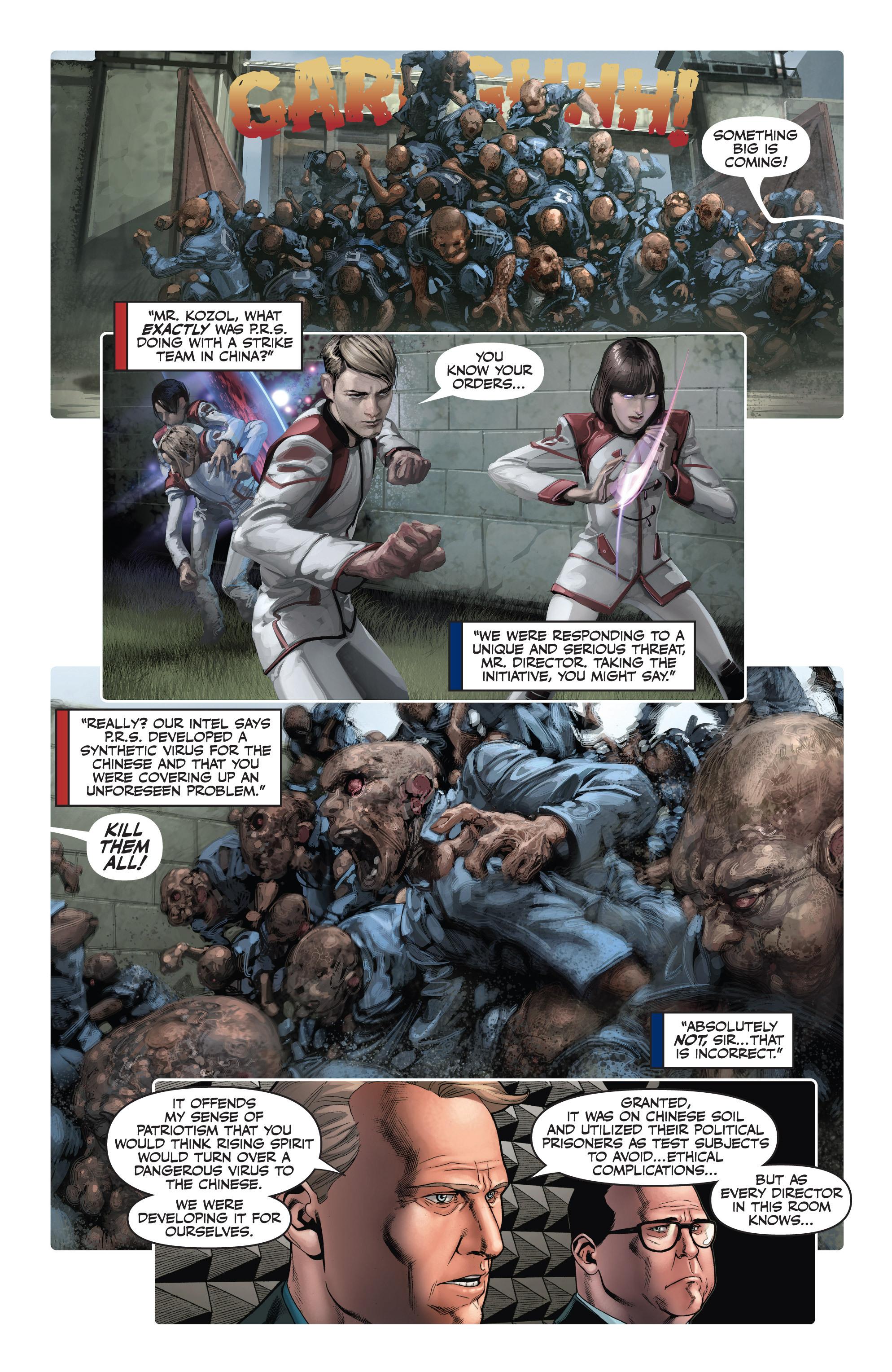 Read online Armor Hunters: Harbinger comic -  Issue # TPB - 83