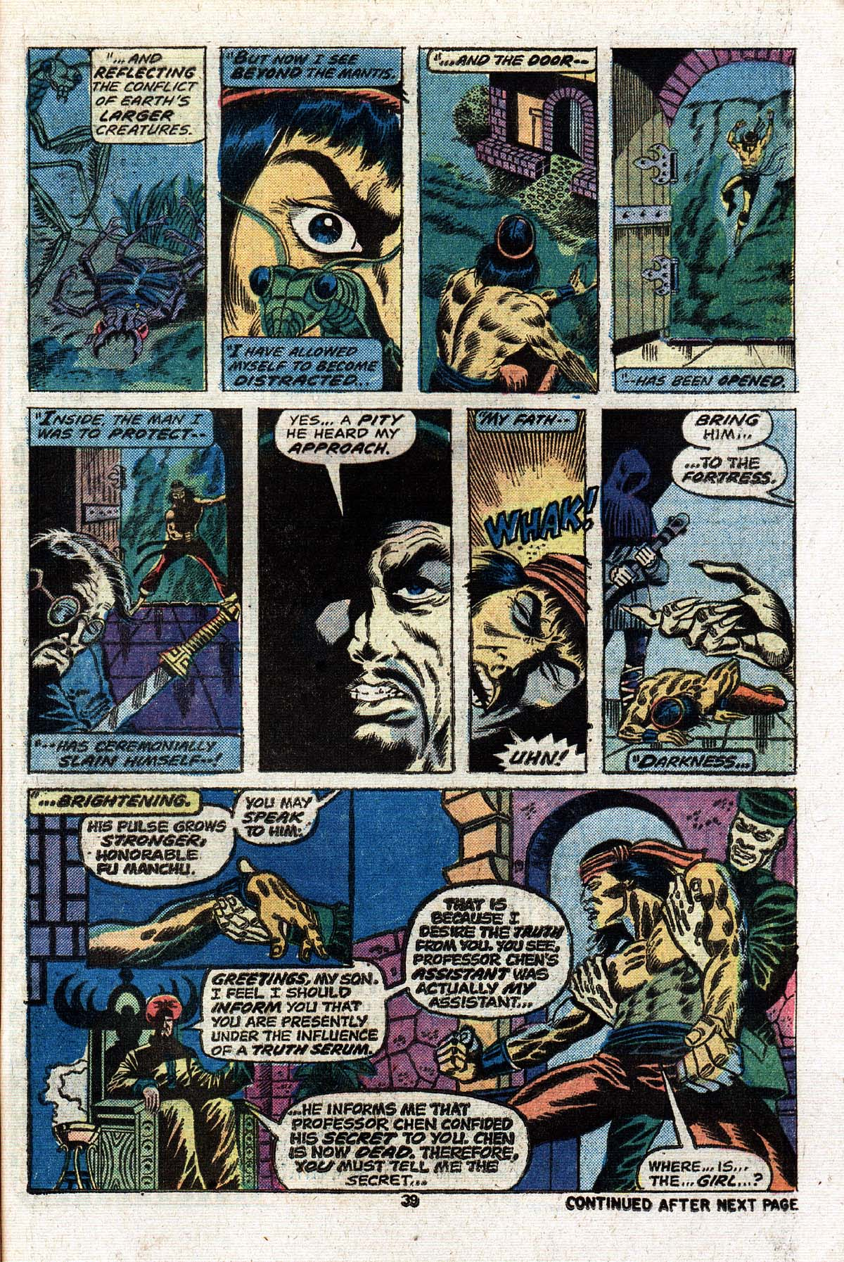 Read online Giant-Size Master of Kung Fu comic -  Issue #2 - 33