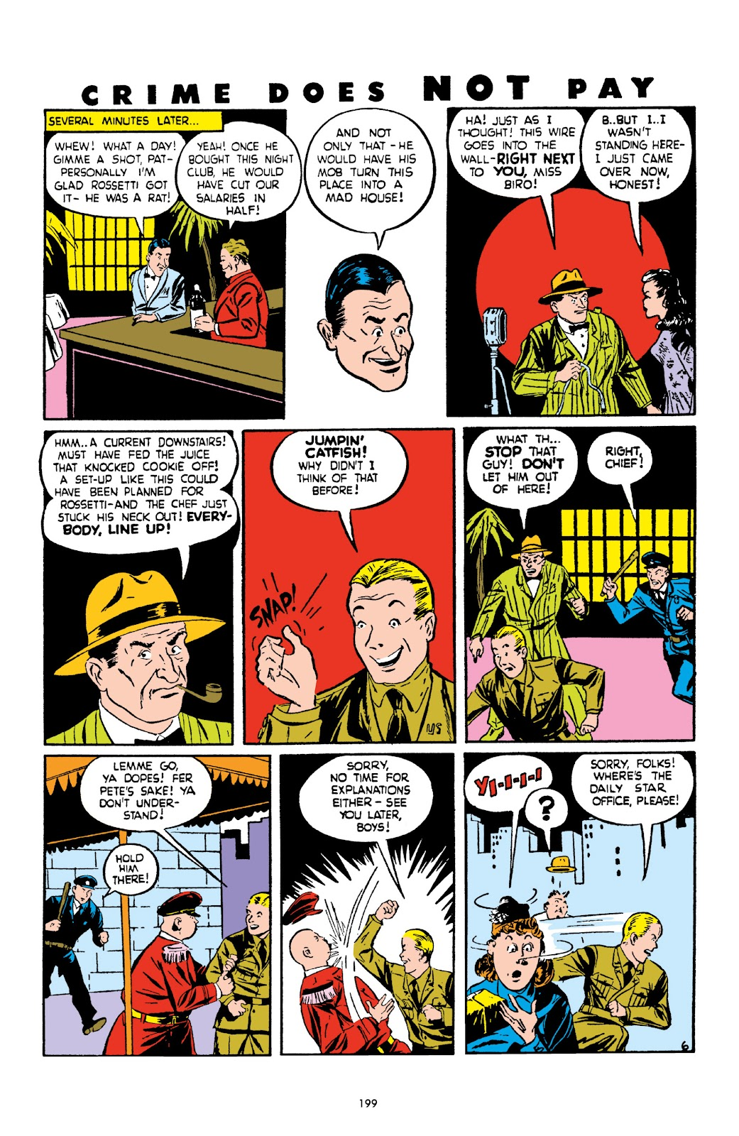 Read online Crime Does Not Pay Archives comic -  Issue # TPB 2 (Part 2) - 99