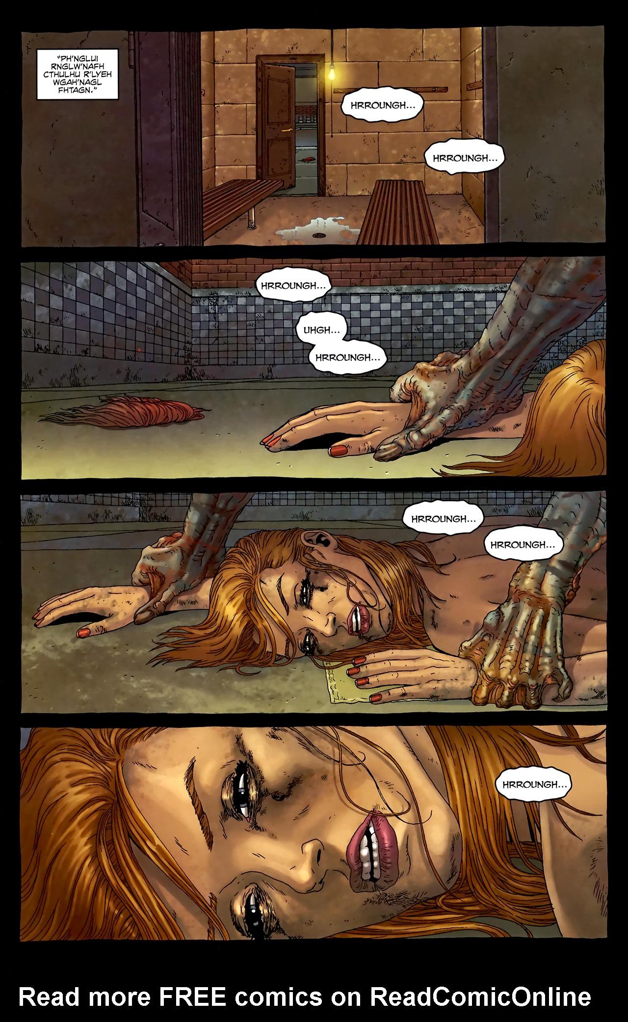 Read online Alan Moore's Neonomicon comic -  Issue #3 - 8