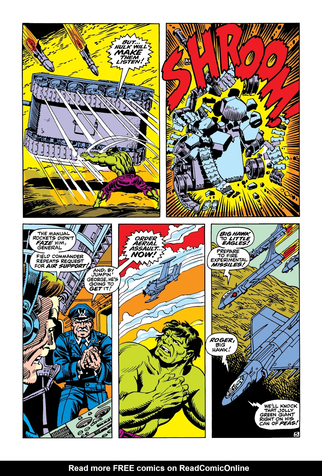 Read online Marvel Masterworks: The Incredible Hulk comic -  Issue # TPB 5 (Part 2) - 100