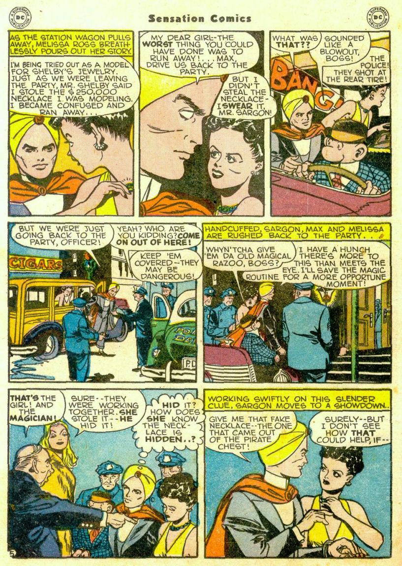 Read online Sensation (Mystery) Comics comic -  Issue #65 - 27