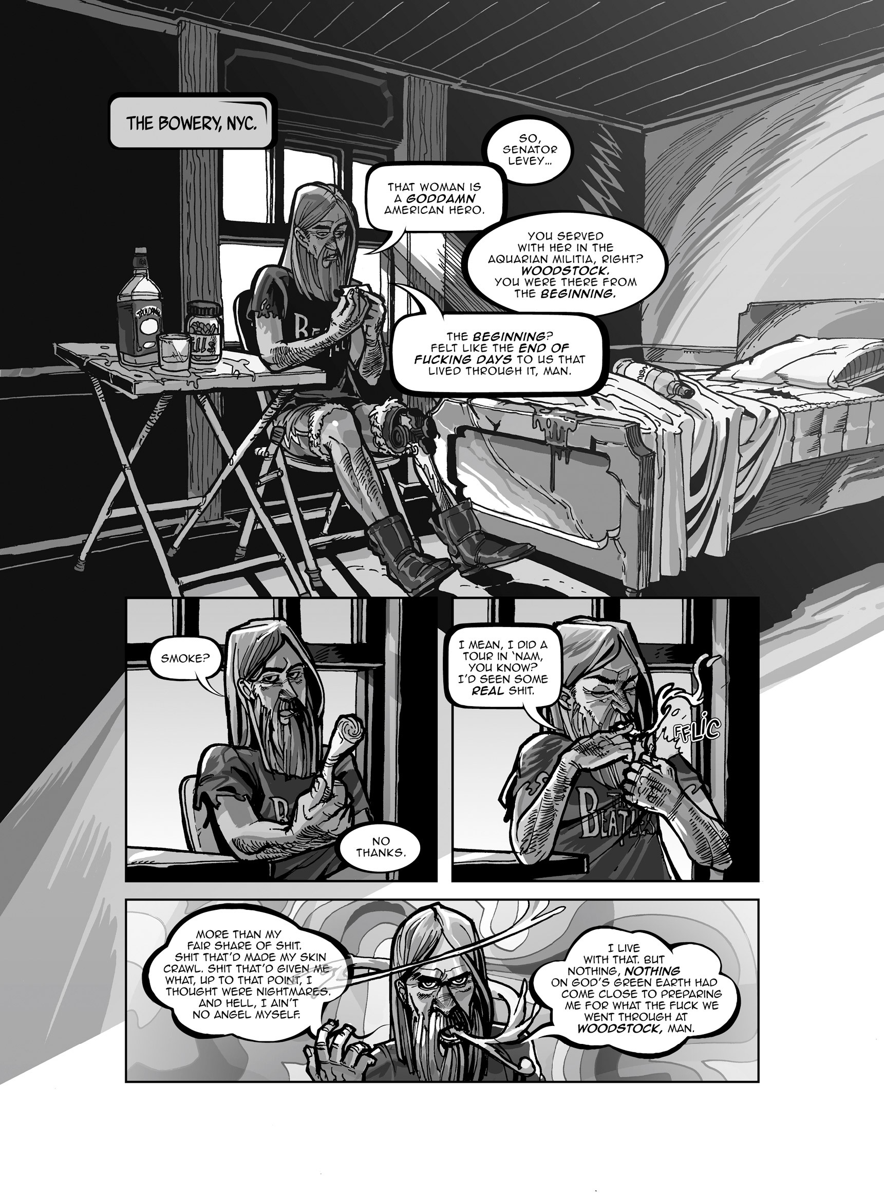Read online FUBAR comic -  Issue #3 - 340