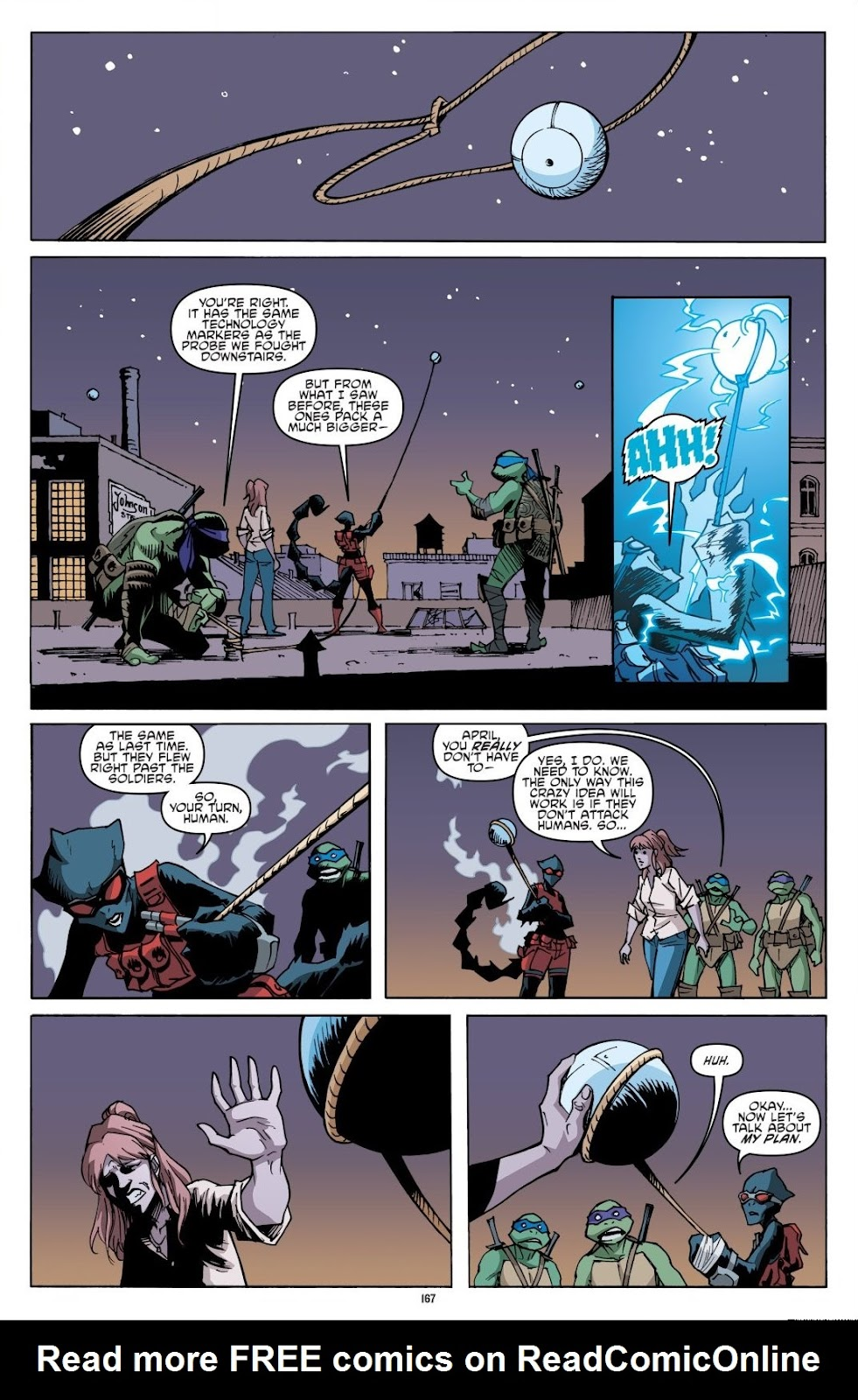 Read online Teenage Mutant Ninja Turtles: The IDW Collection comic -  Issue # TPB 8 (Part 2) - 66