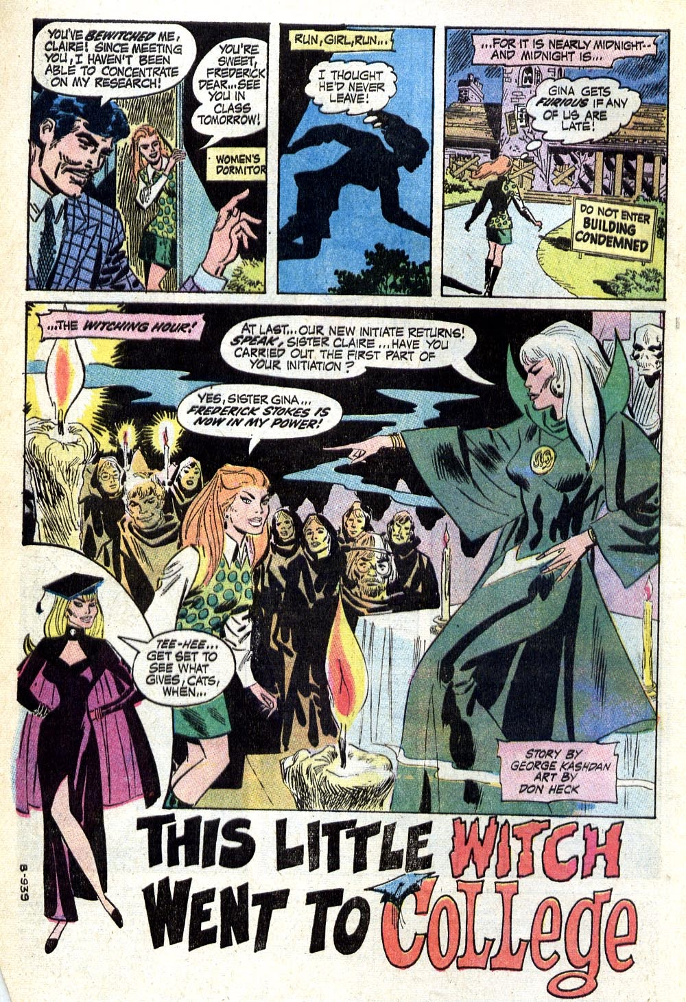 The Witching Hour (1969) issue 17 - Page 3