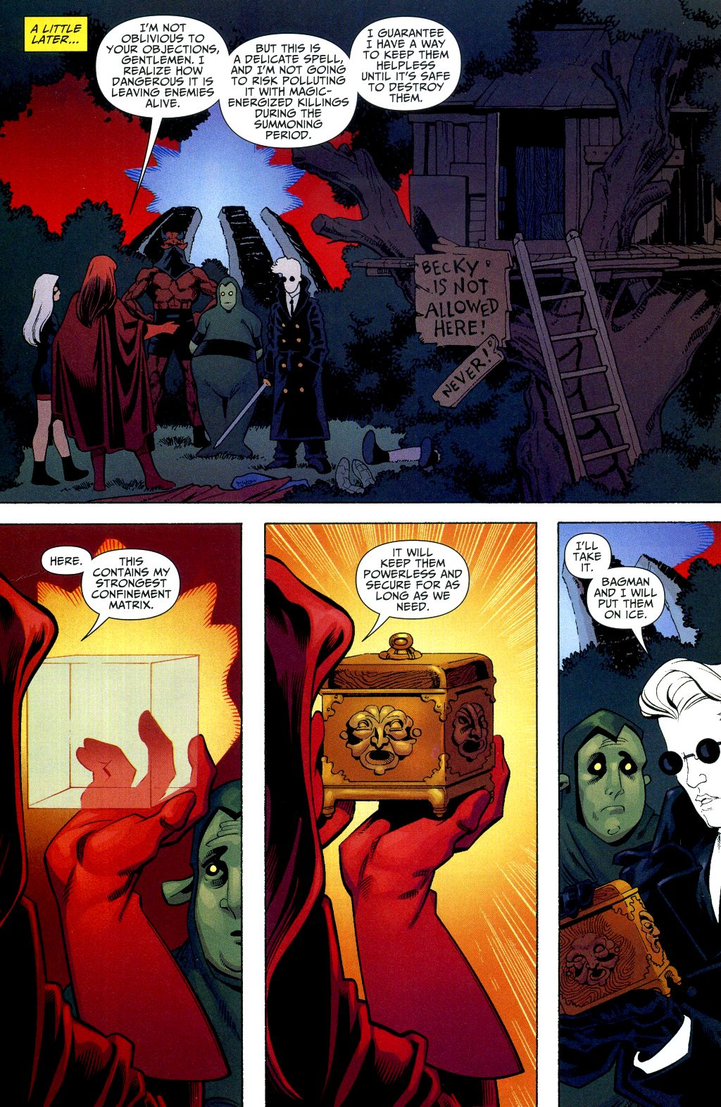 Read online Shadowpact comic -  Issue #2 - 19