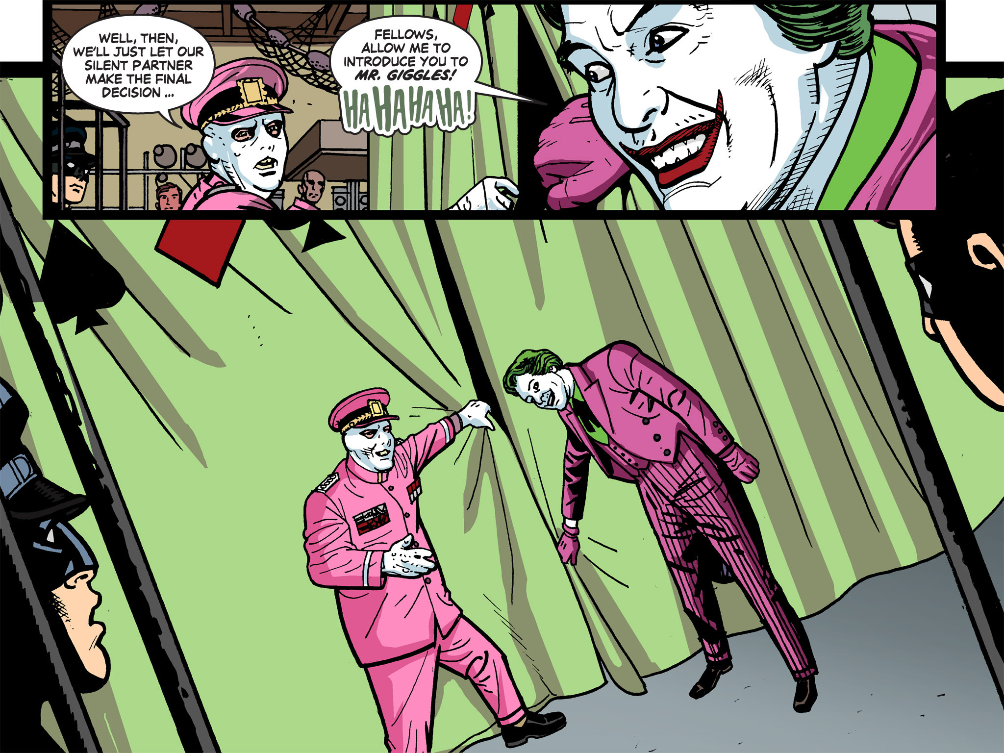 Read online Batman '66 Meets the Green Hornet [II] comic -  Issue #5 - 97