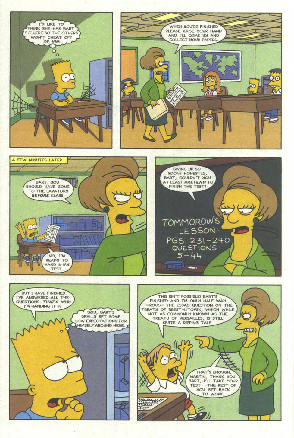 Read online Simpsons Comics comic -  Issue #20 - 15