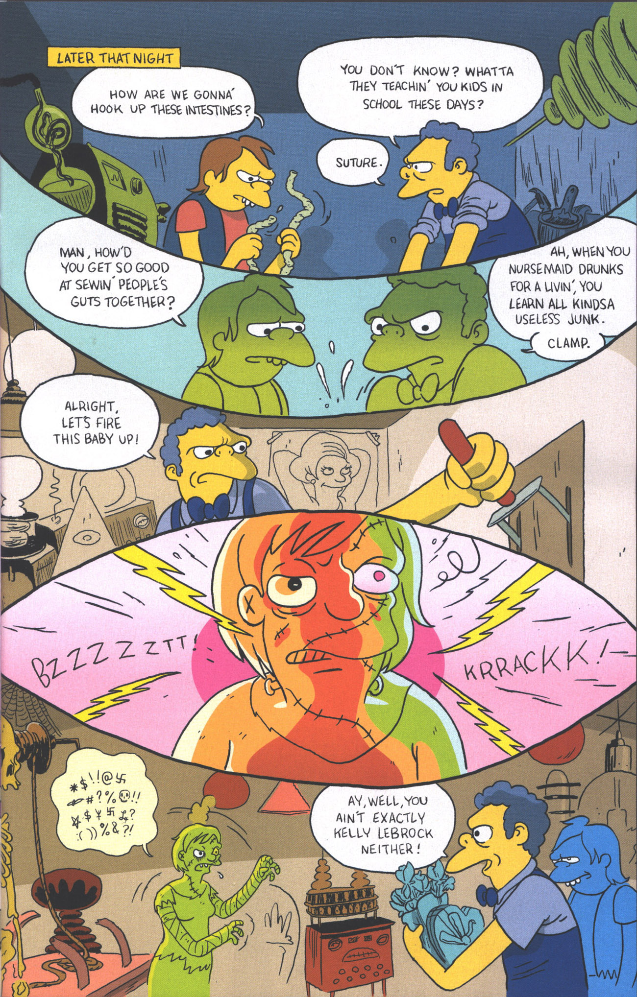 Read online Treehouse of Horror comic -  Issue #15 - 20