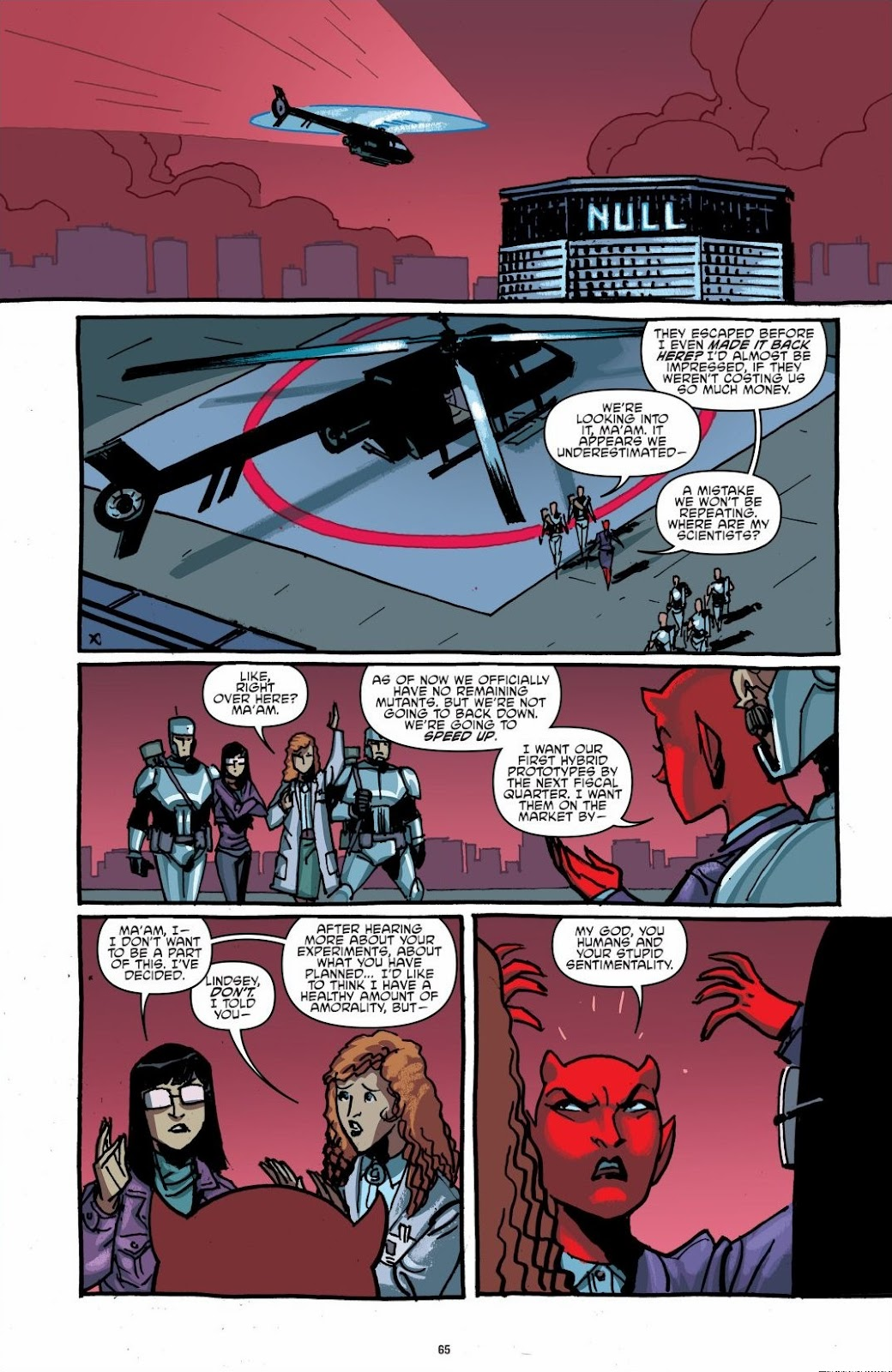 Read online Teenage Mutant Ninja Turtles: The IDW Collection comic -  Issue # TPB 6 (Part 1) - 64